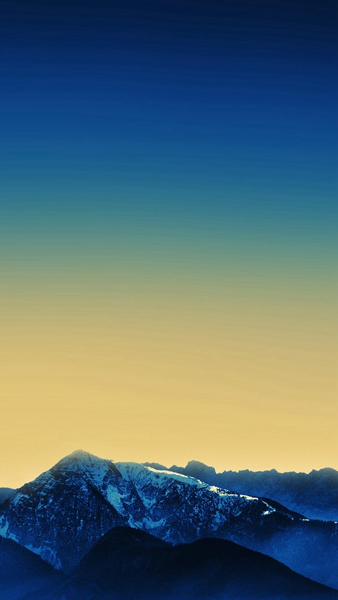 Dark Blue Wallpaper Official Mountain Apple Art iPhone 8 wallpaper