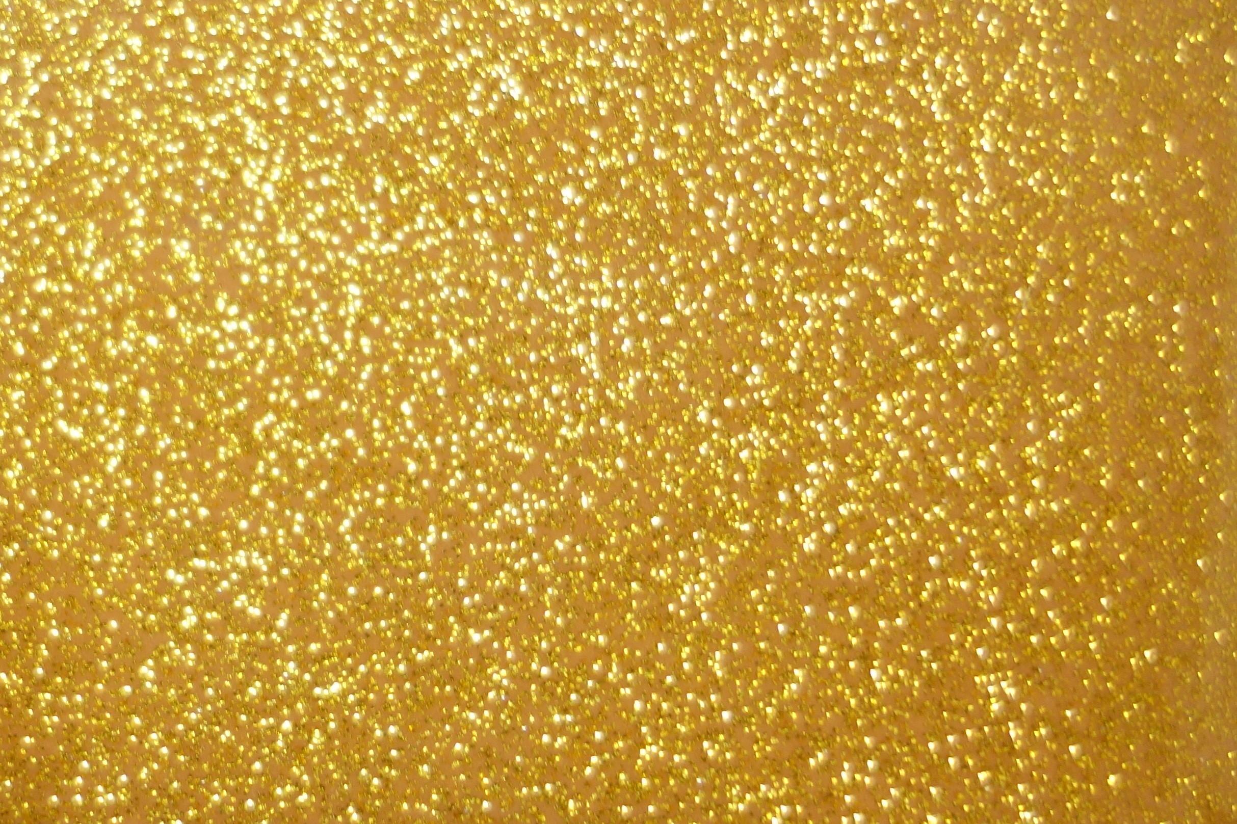 Desktop Images Gold Glitter Wallpaper HD.