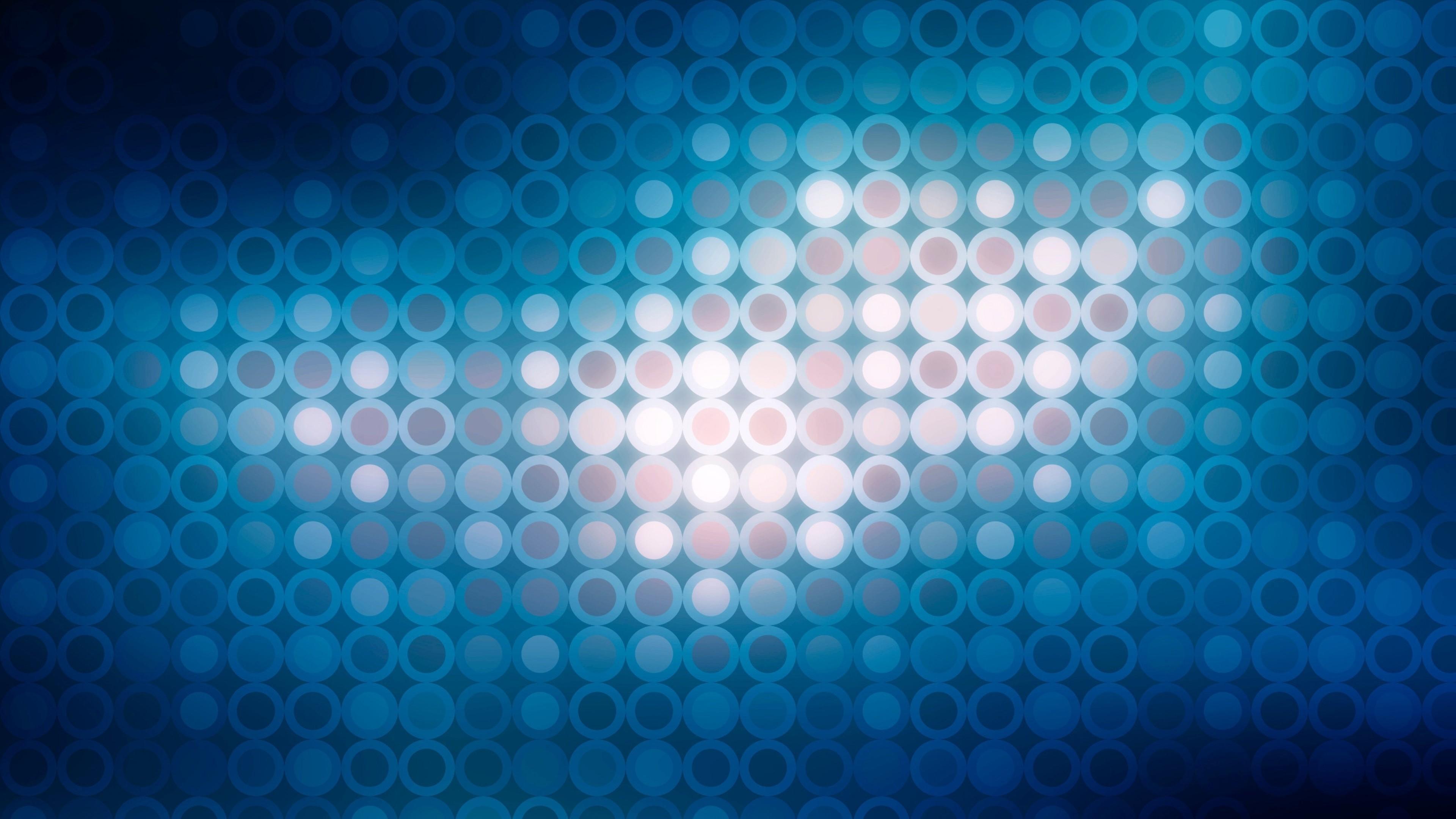 Wallpaper circles, shape, light, glitter