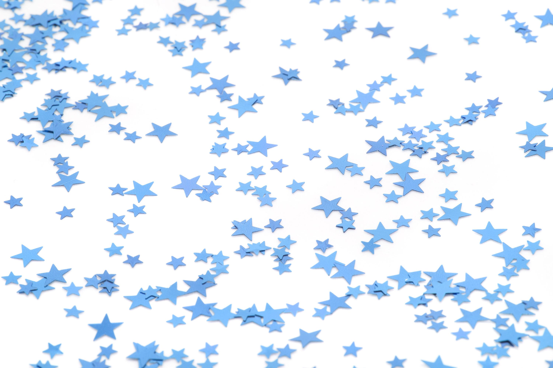 Light Blue Stars Background Star glitter-2728
