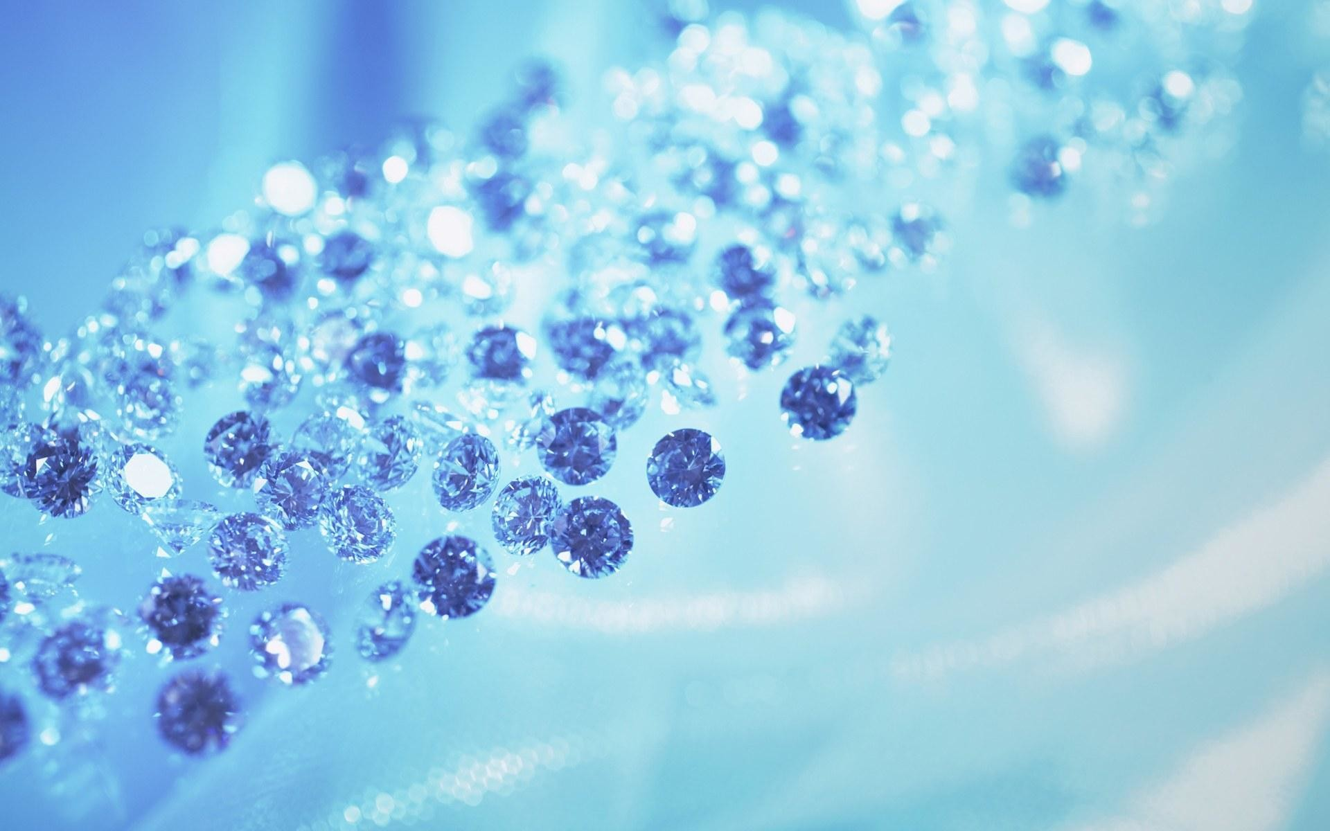 Blue glitter desktop wallpaper