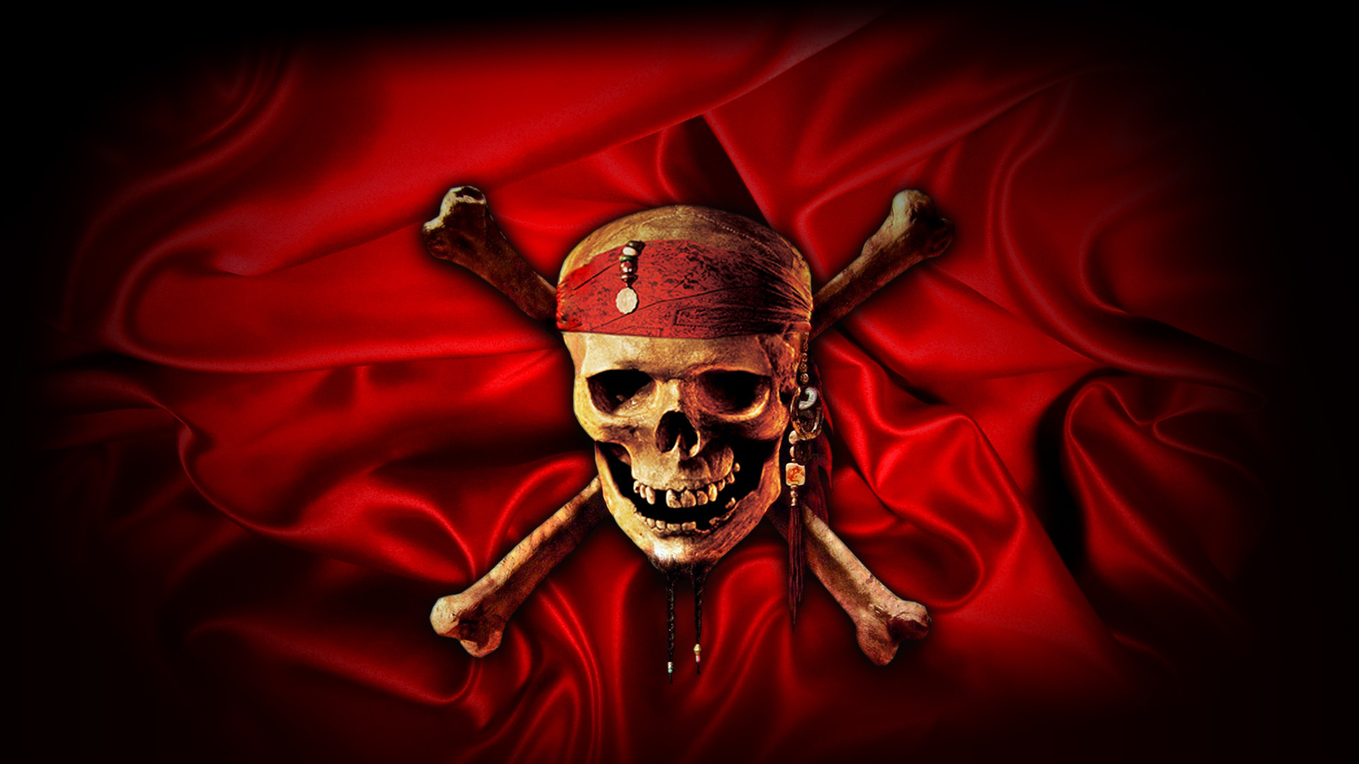 Movie Pirates Of The Caribbean: At World's End Skull Crossbones Wallpaper