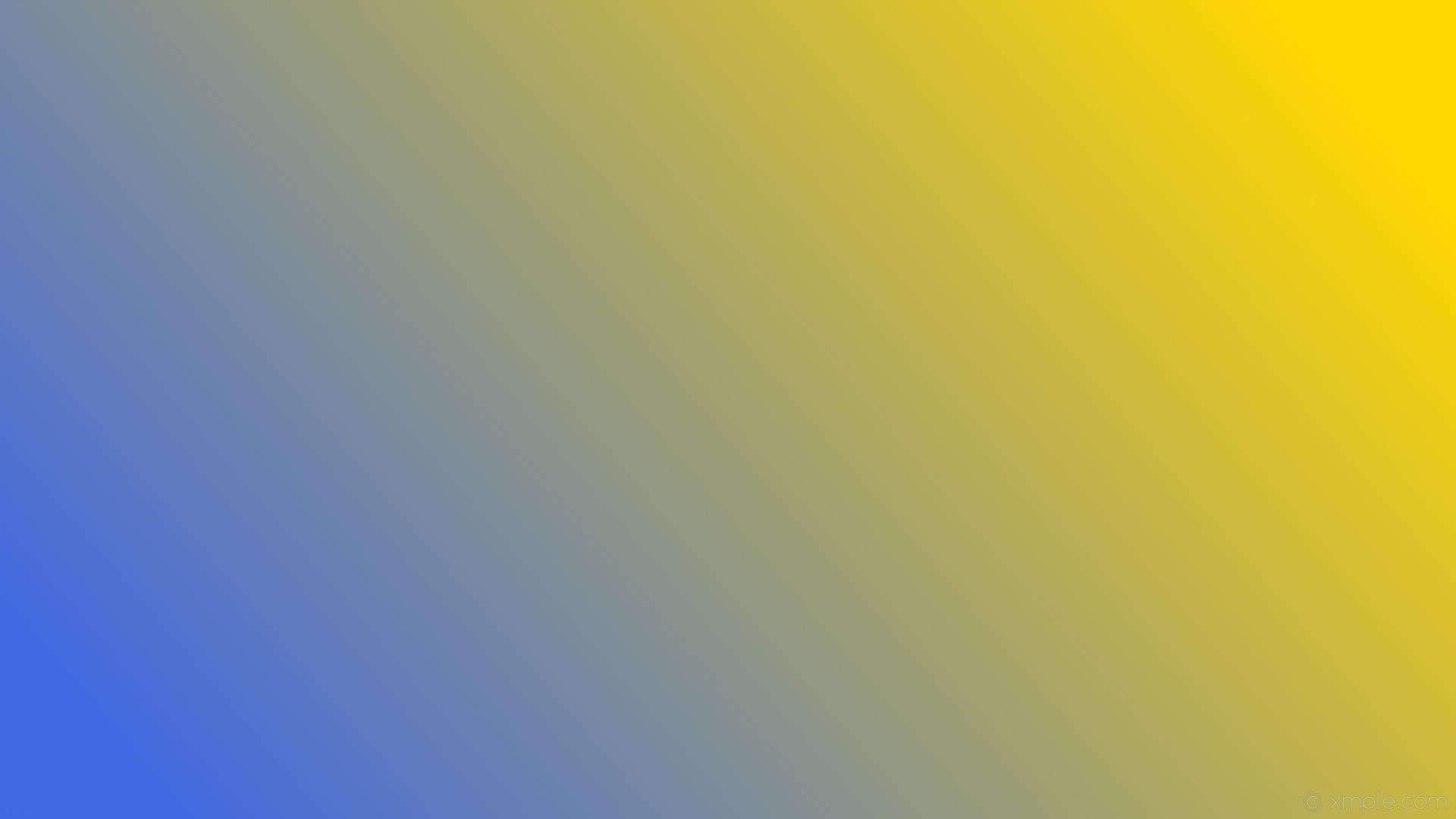 wallpaper linear yellow gradient blue royal blue gold #4169e1 #ffd700 195°