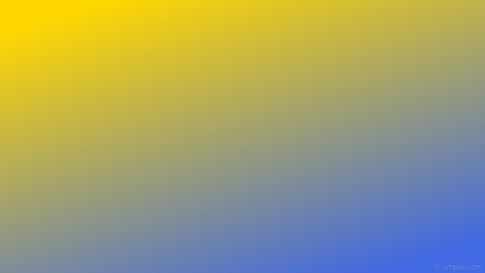 wallpaper yellow gradient linear blue gold royal blue #ffd700 #4169e1 135°