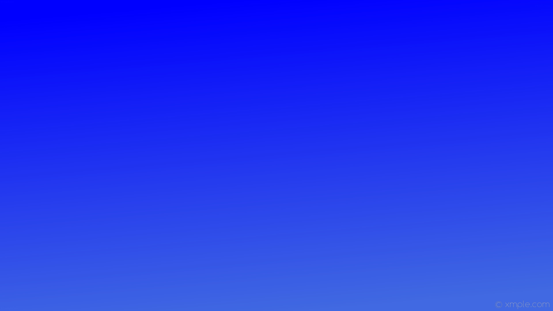 wallpaper linear gradient blue royal blue #0000ff #4169e1 105°