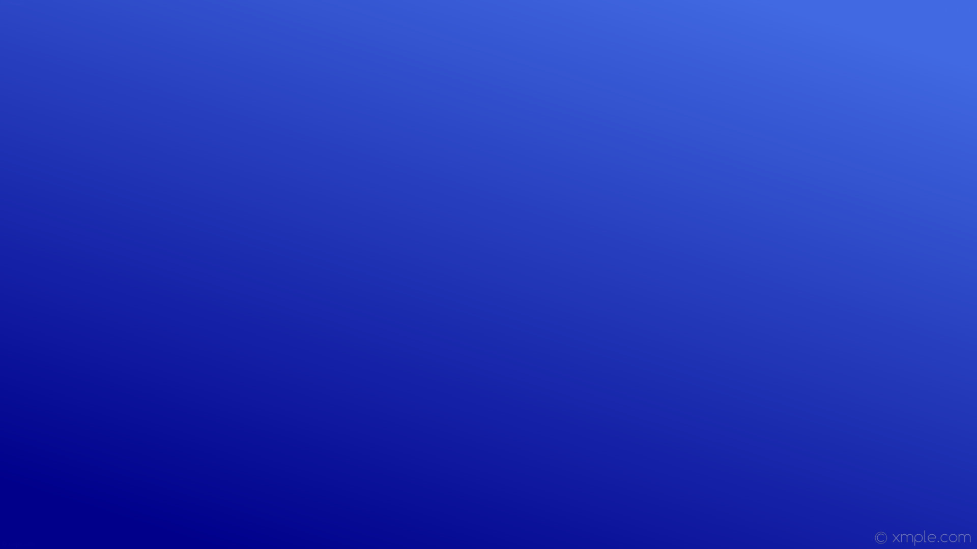 wallpaper blue gradient linear royal blue dark blue #4169e1 #00008b 45°