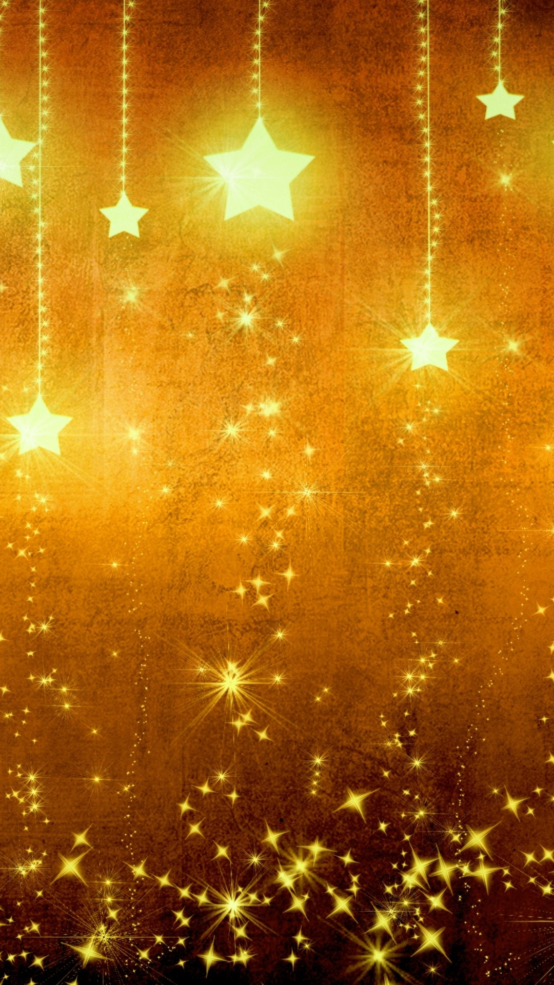 Star Gold Holiday Background Brown Yellow Light Texture iPhone 6 wallpaper
