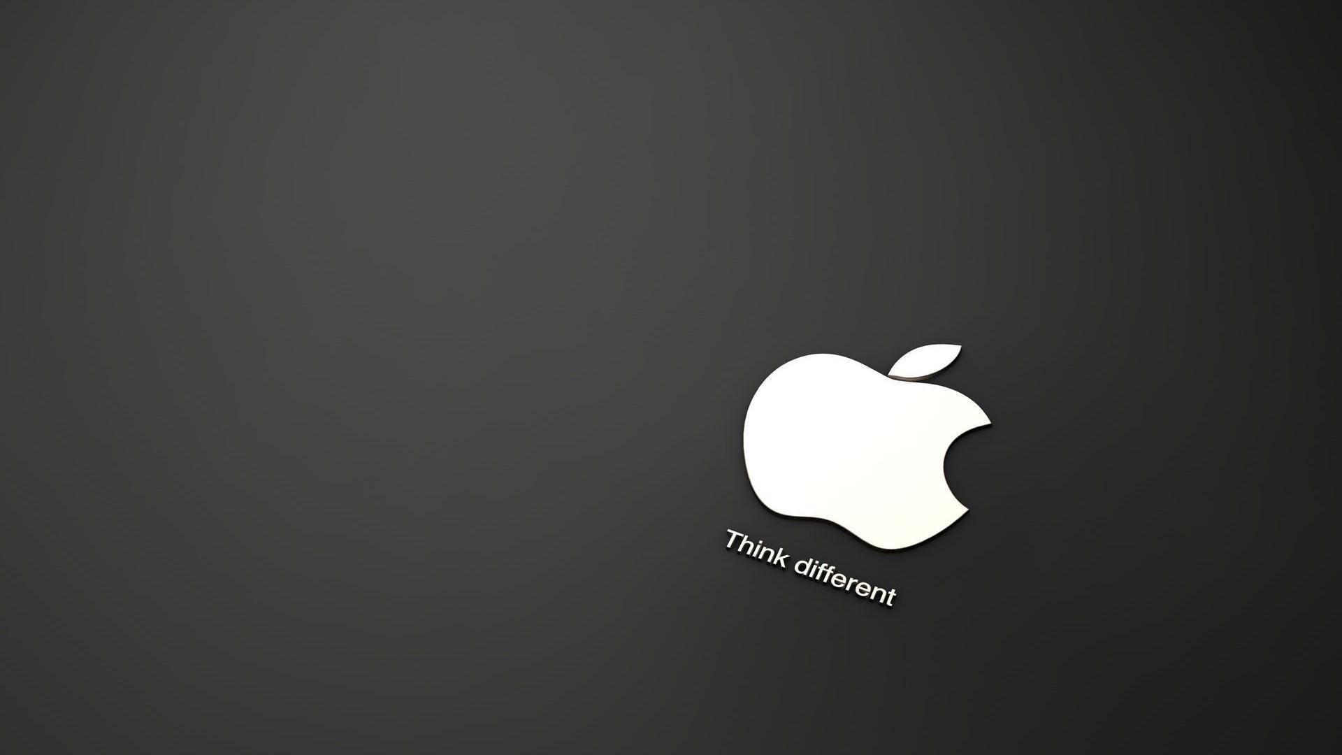 Black And White Apple Logo Wallpaper