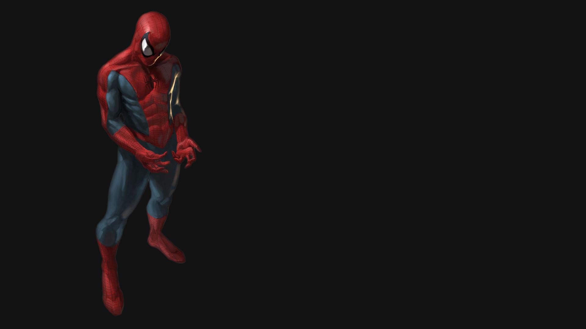 Spider man 3D Black Wallpaper · snake Black background
