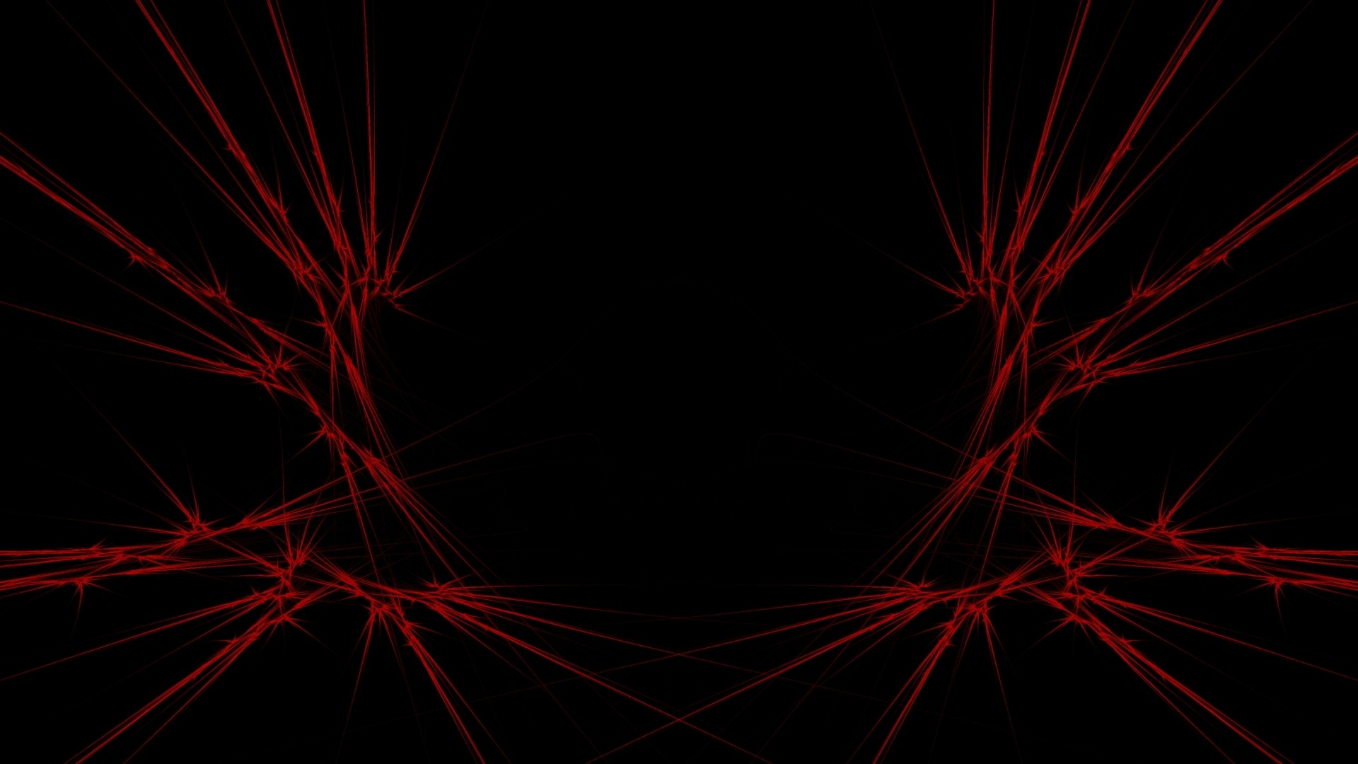 Preview wallpaper red, black, abstract 1920×1080