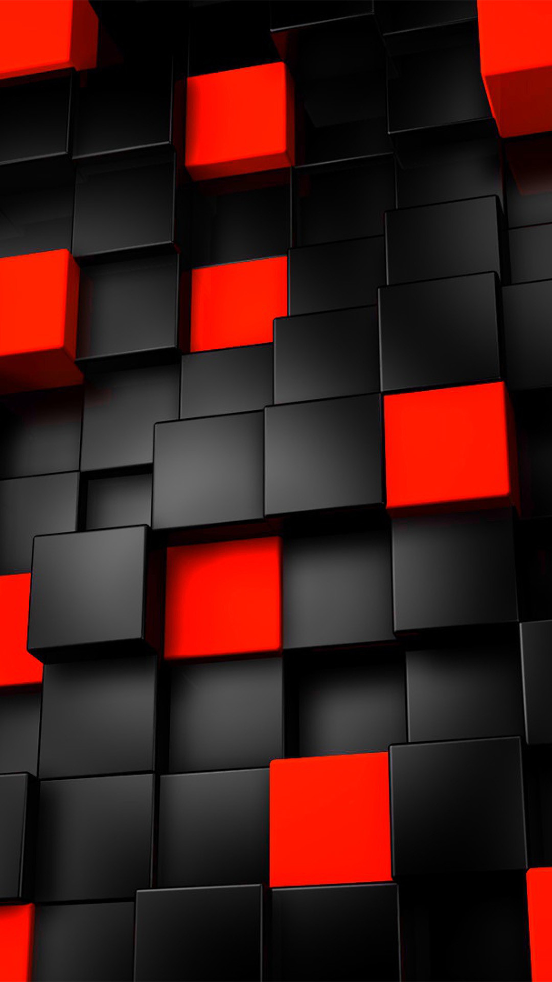 Black And Red Iphone 5 Wallpaper