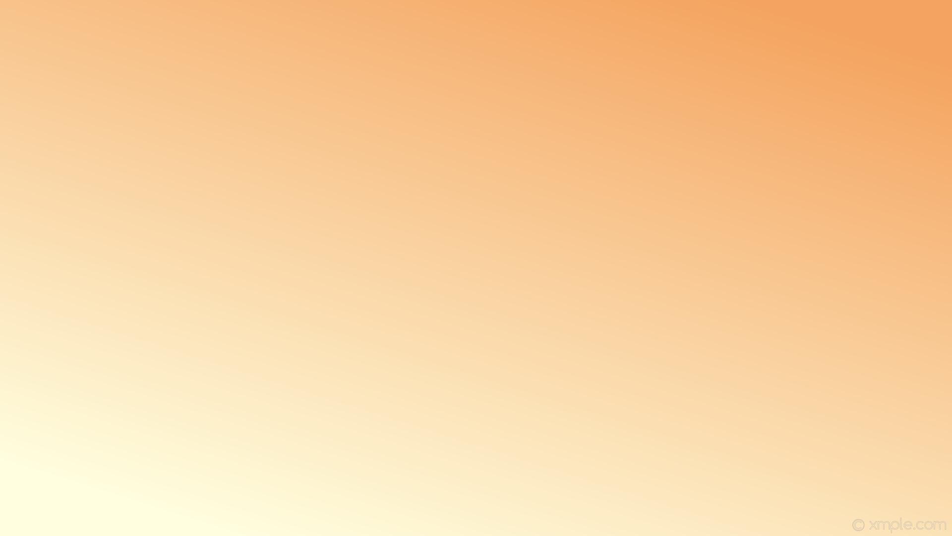 wallpaper linear brown yellow gradient sandy brown light yellow #f4a460  #ffffe0 45°