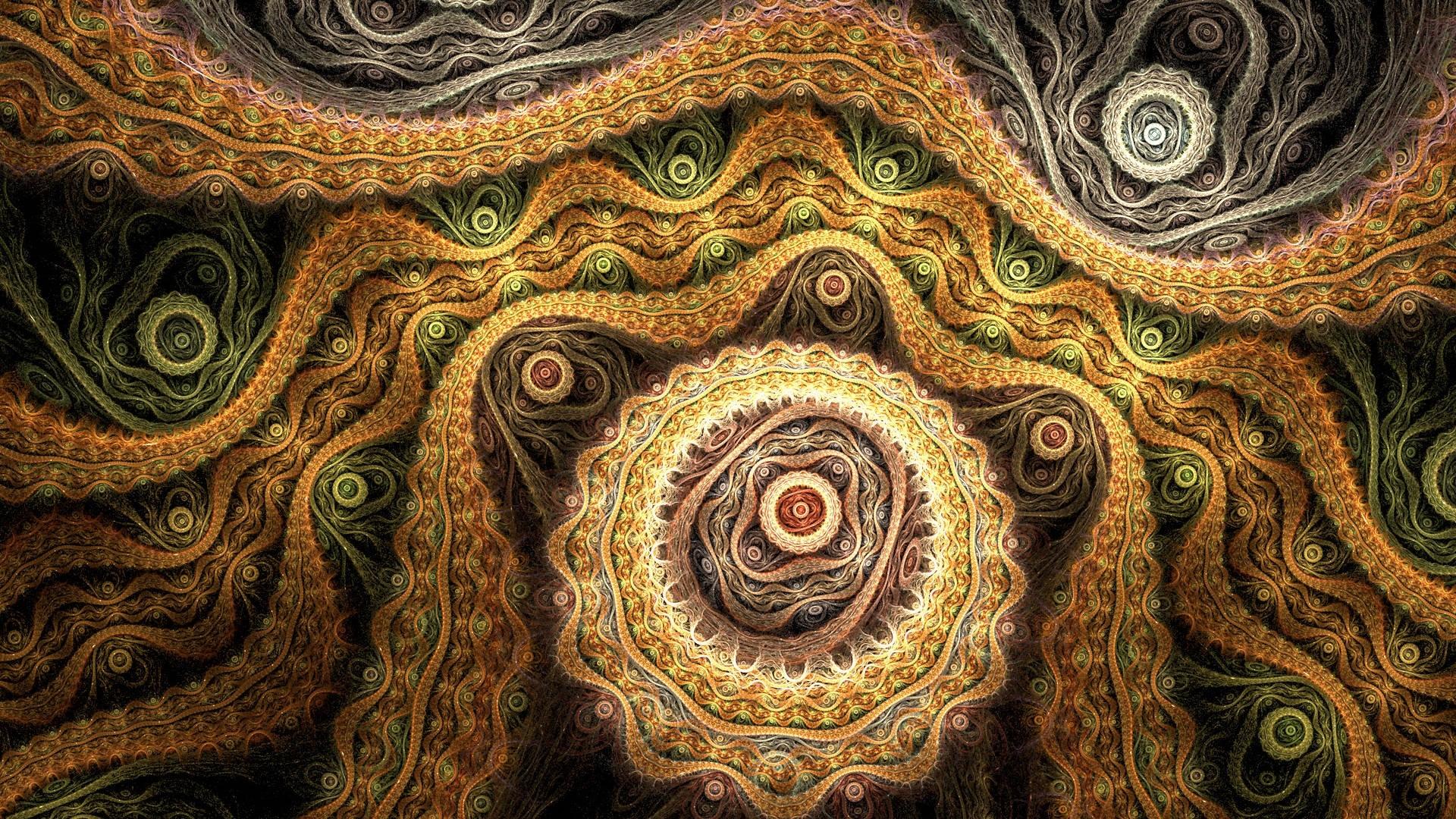 Wallpaper Abstract, Brown, Patterns, Light