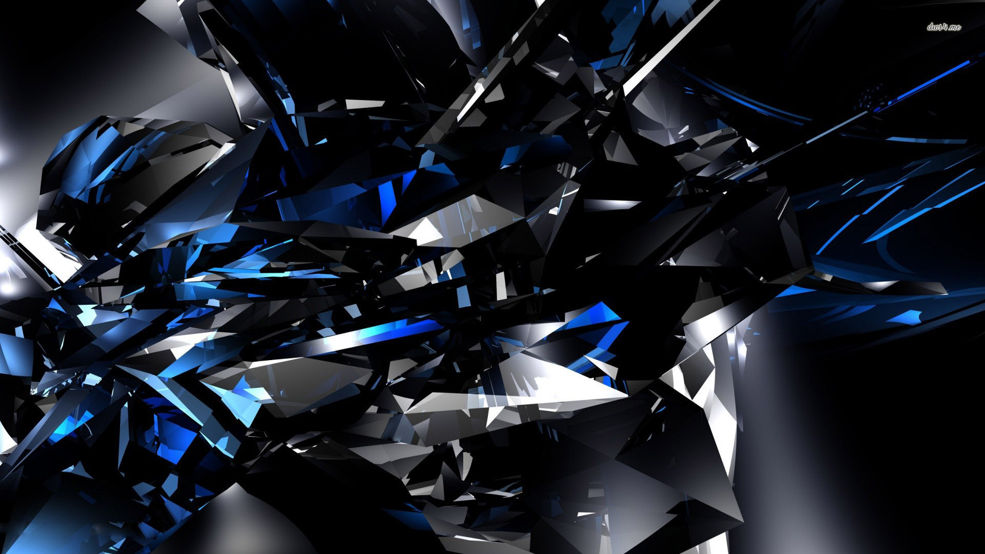Black And Blue Abstract Wallpapers Wallpaper