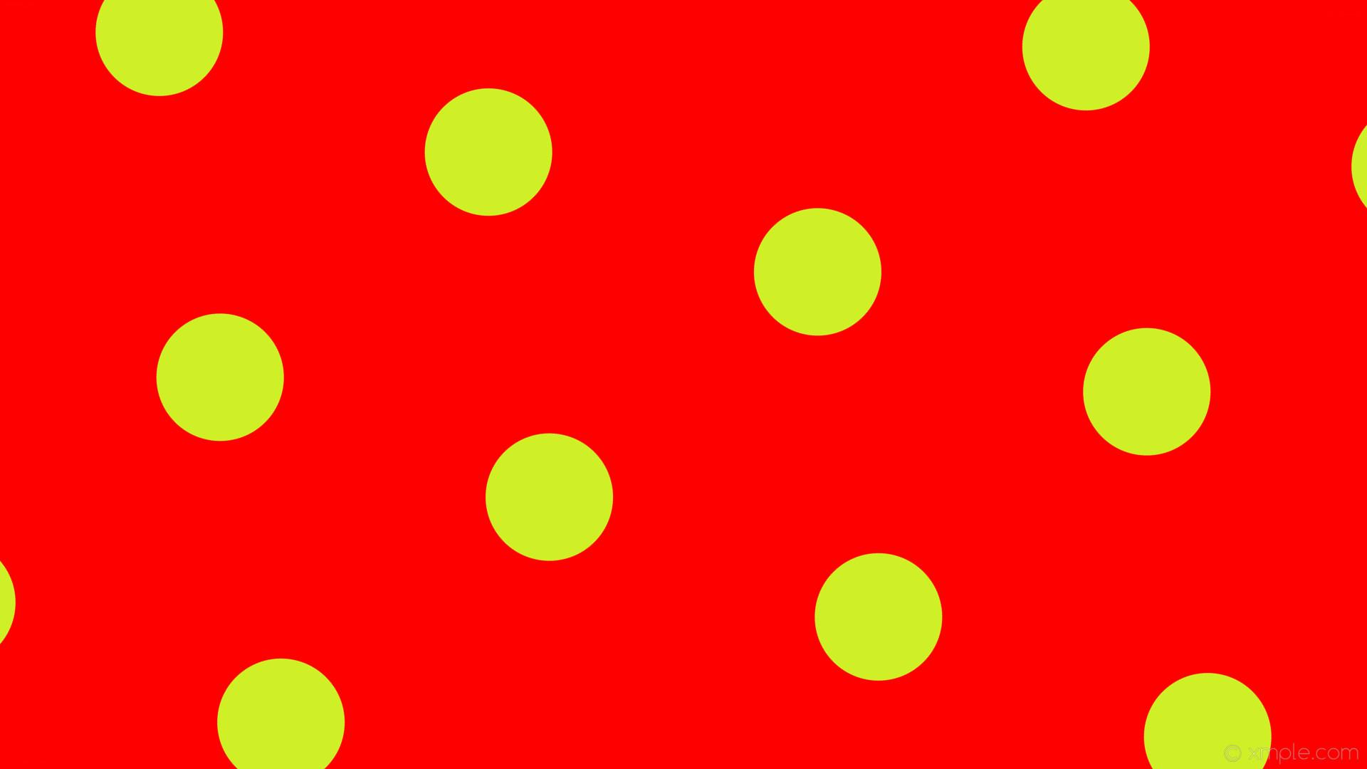wallpaper yellow polka dots hexagon red #ff0000 #cff027 diagonal 40° 179px  492px