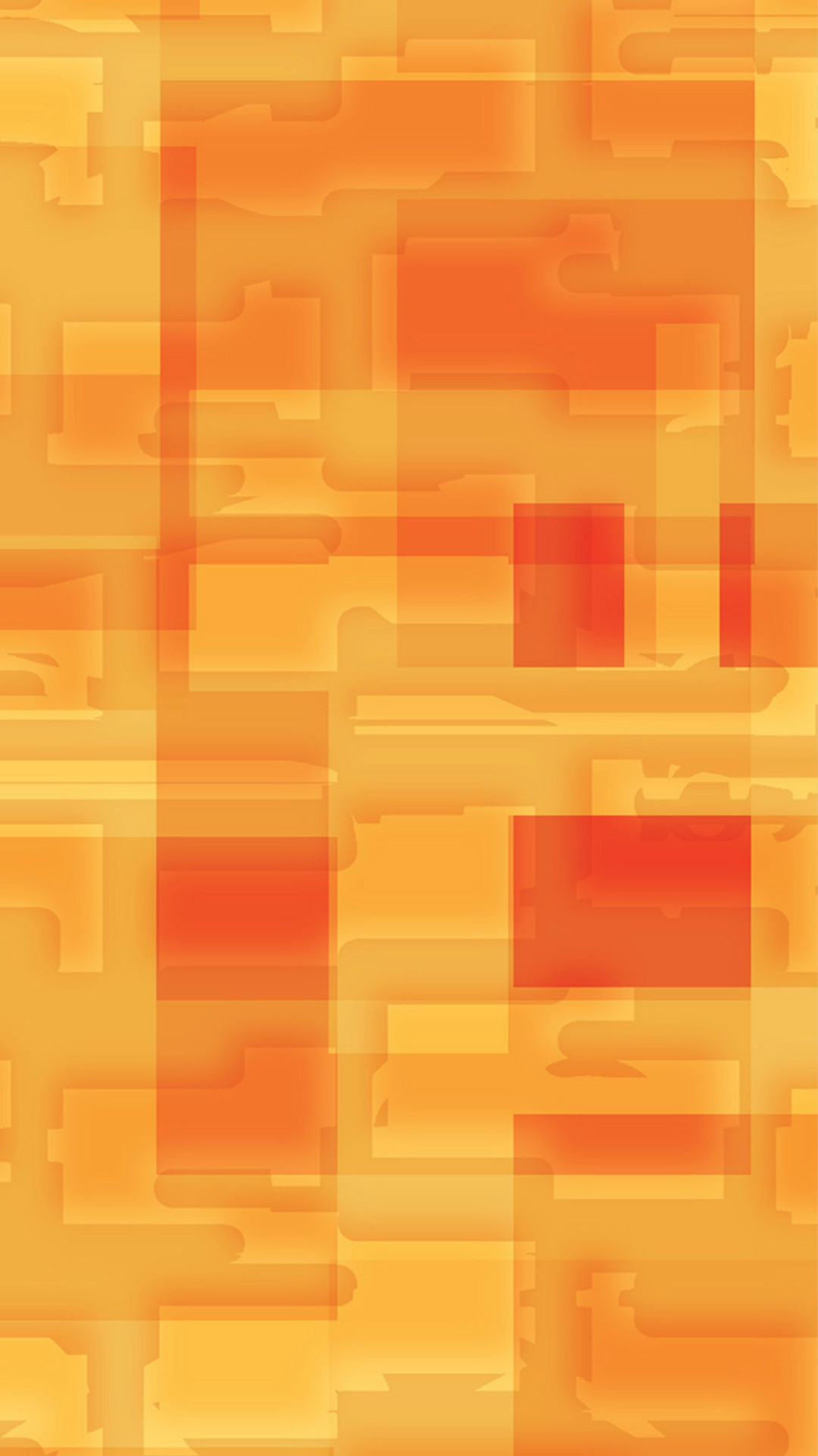 Square World Pattern Orange Yellow #iPhone #6 #plus #wallpaper