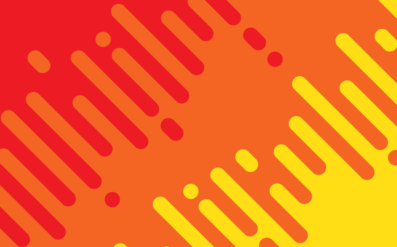 Pattern, Minimalism, Red, Yellow wallpaper thumb