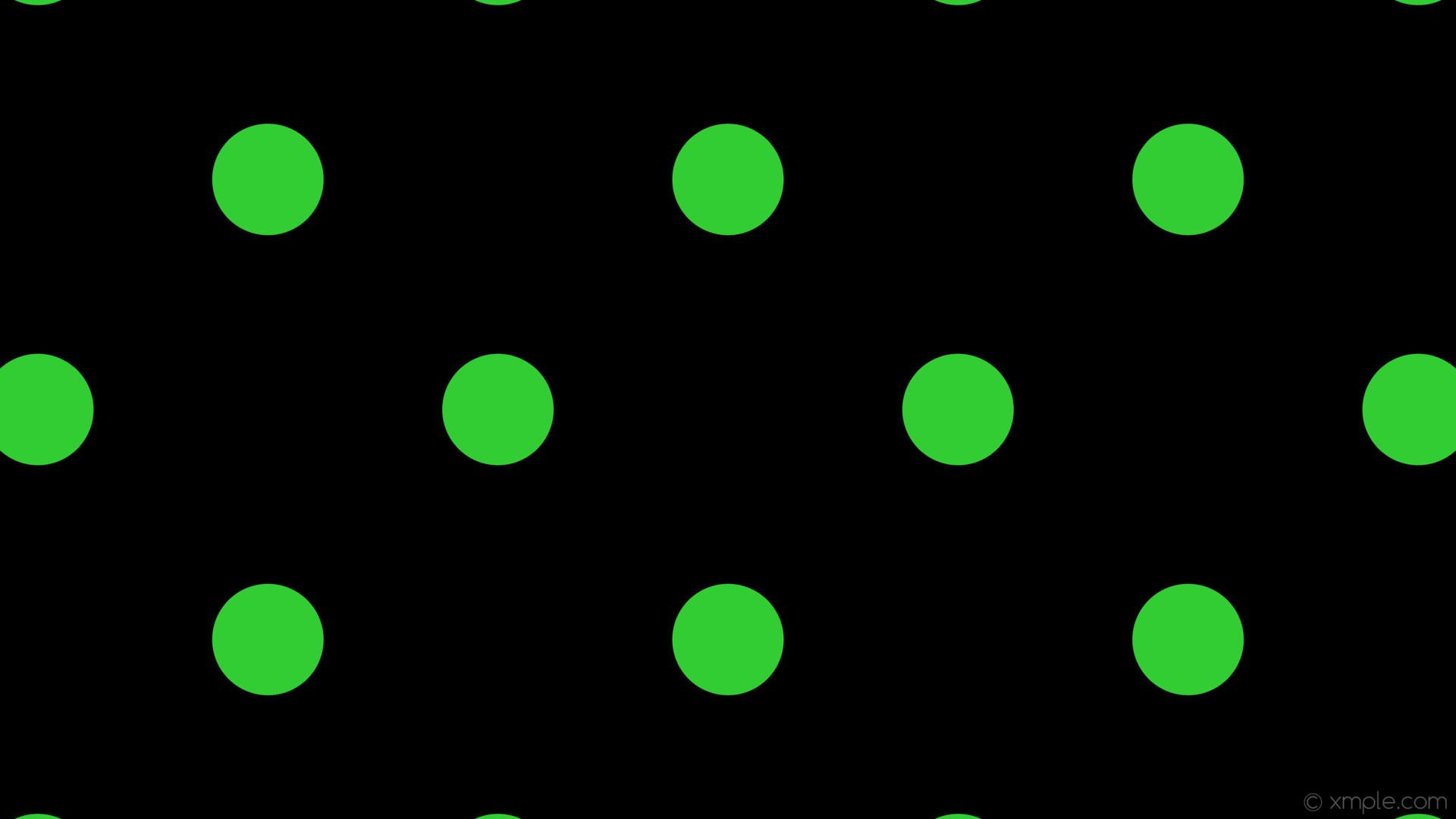 wallpaper dots green spots polka black lime green #000000 #32cd32 135°  147px 429px