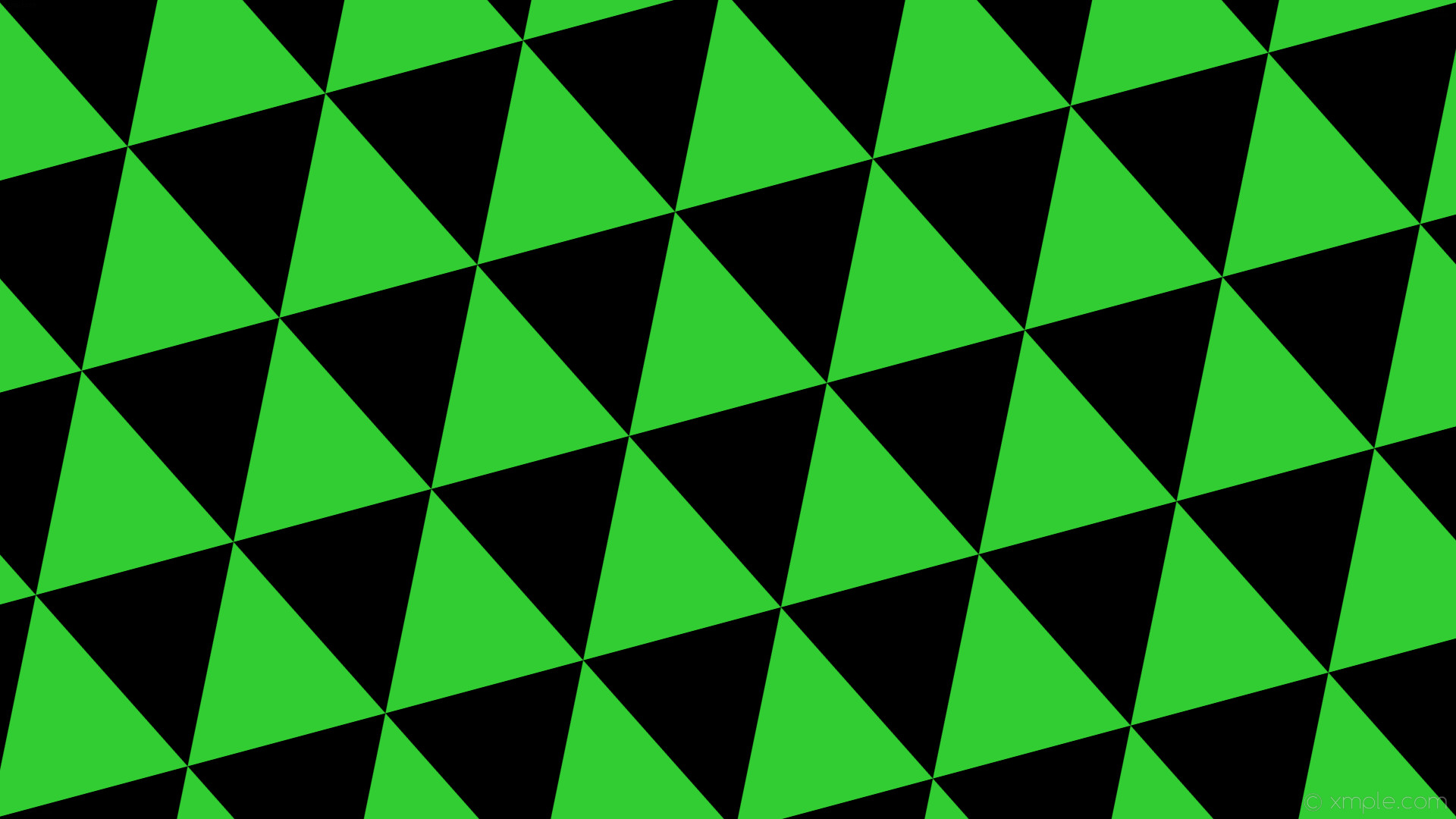 wallpaper black green triangle lime green #32cd32 #000000 195° 270px 540px