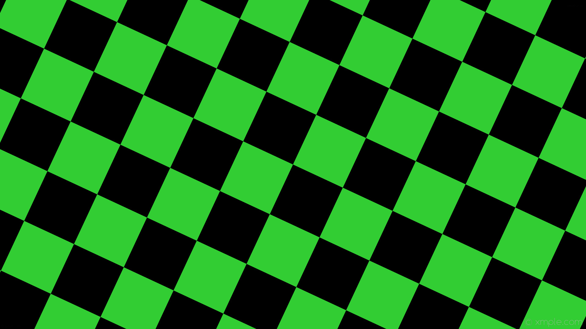 wallpaper black squares green checkered lime green #32cd32 #000000 diagonal  65° 180px