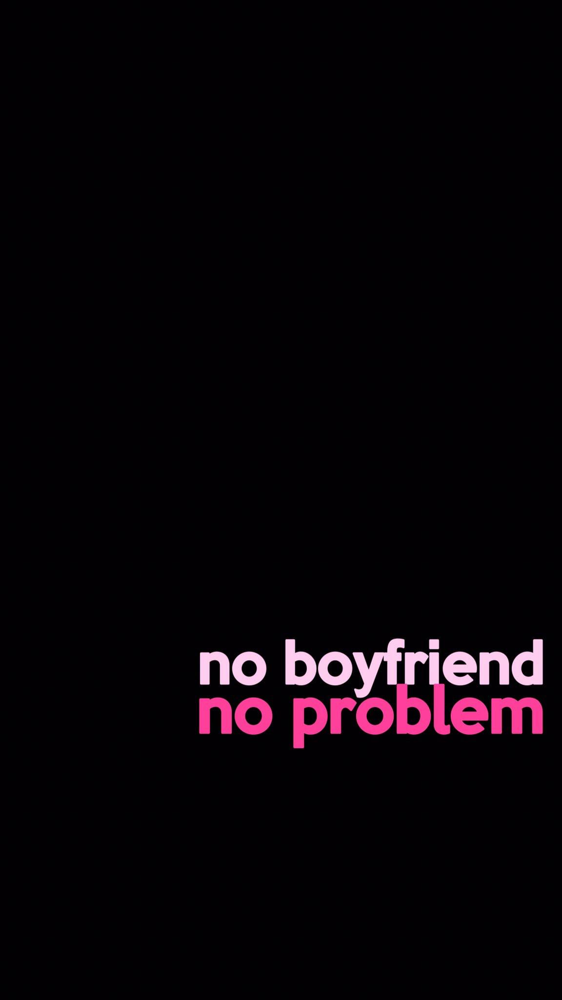 no tener novios, no tener problemas · No BoyfriendBlack Phone WallpaperWalpaper  …