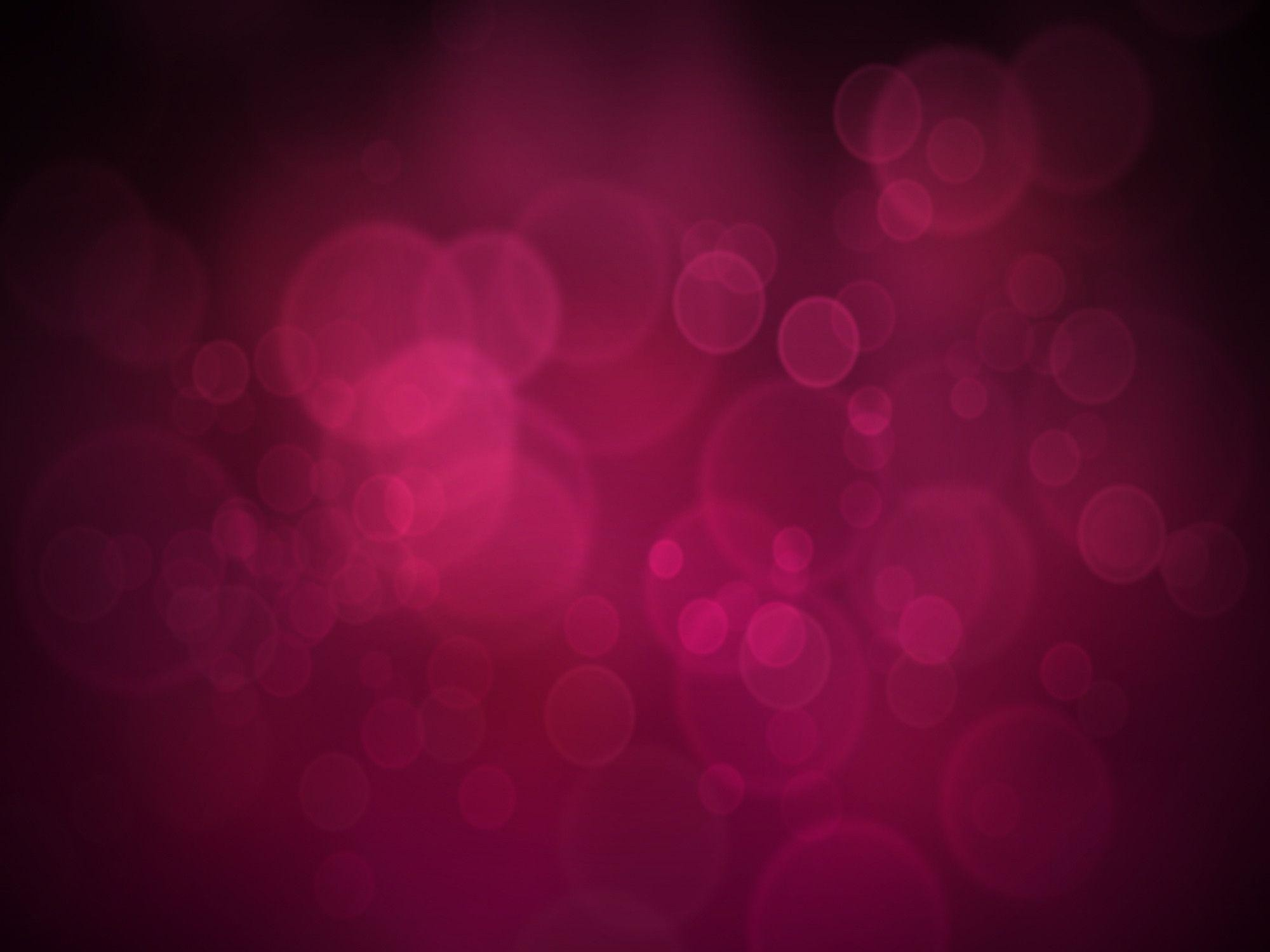 Wallpaper Points, Pink-Black Background, Bubbles, Reflections .