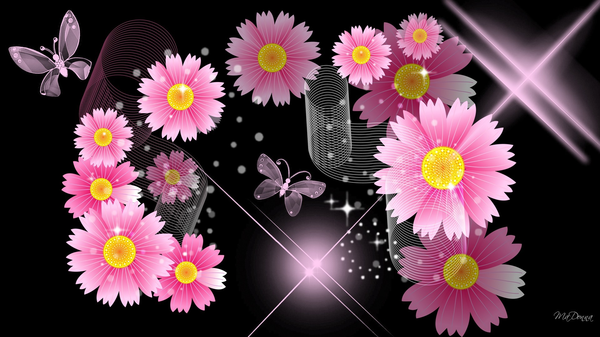 … black with pink flowers wallpaper amplify pa info …