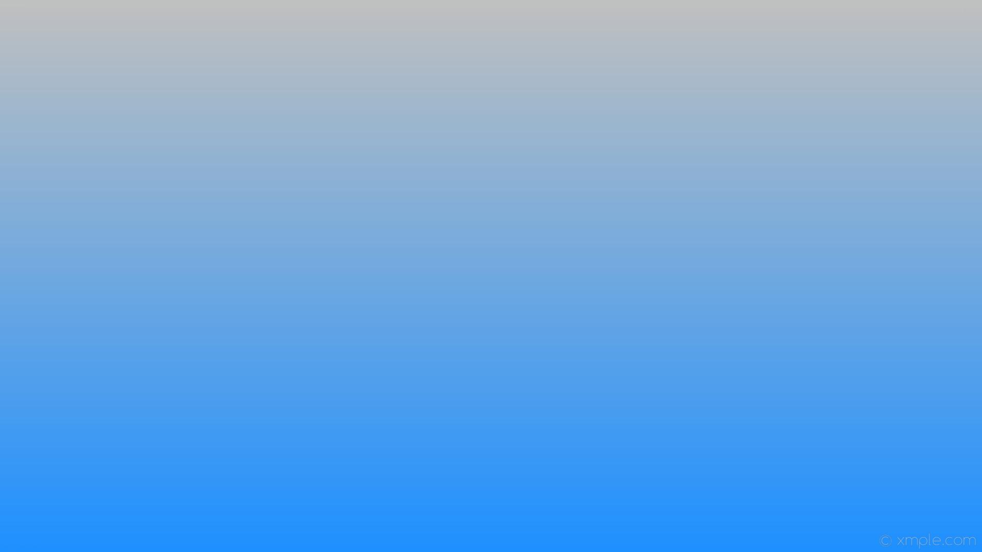 wallpaper gradient blue linear grey silver dodger blue #c0c0c0 #1e90ff 90°