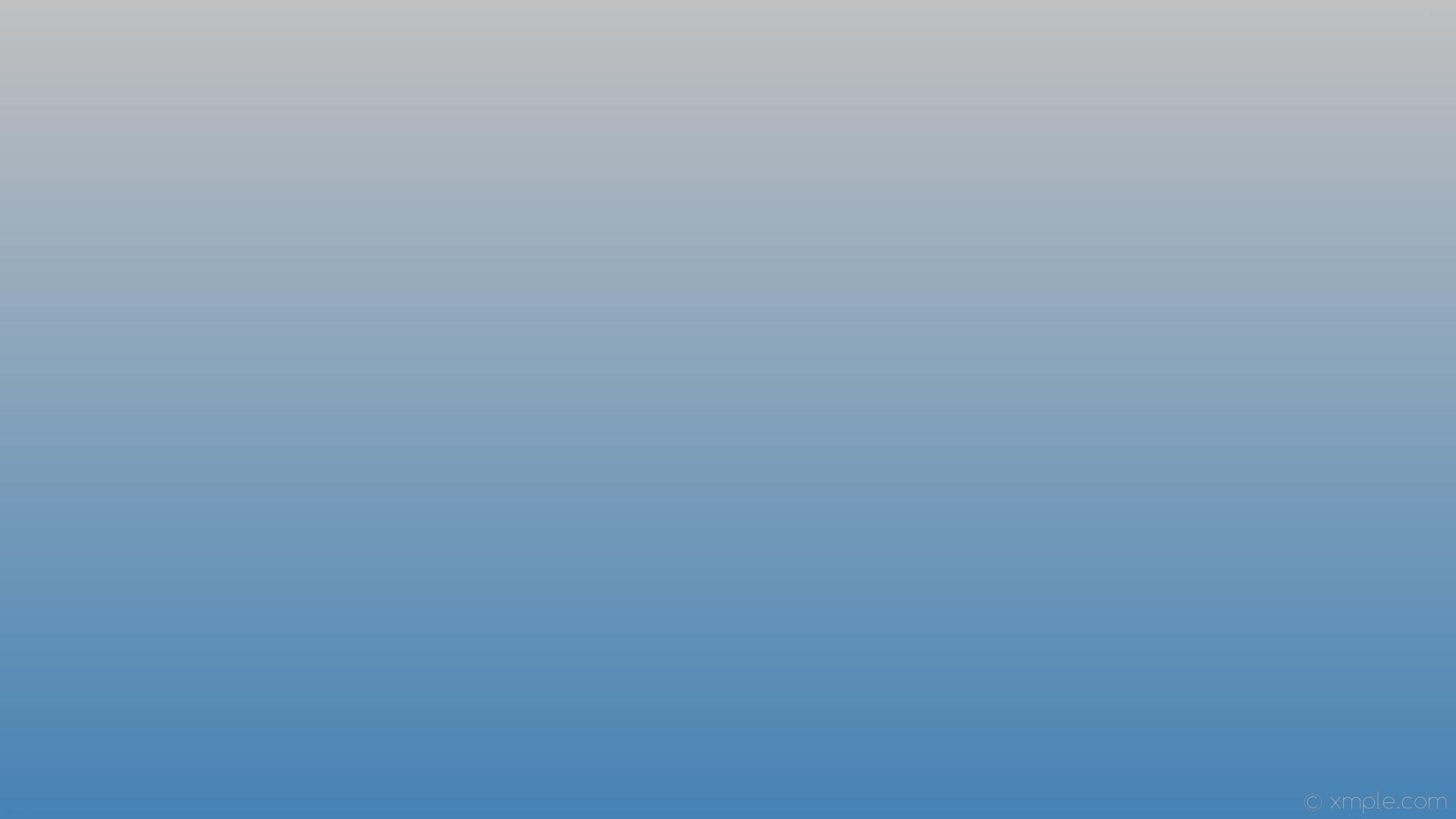 wallpaper blue linear gradient grey steel blue silver #4682b4 #c0c0c0 270°