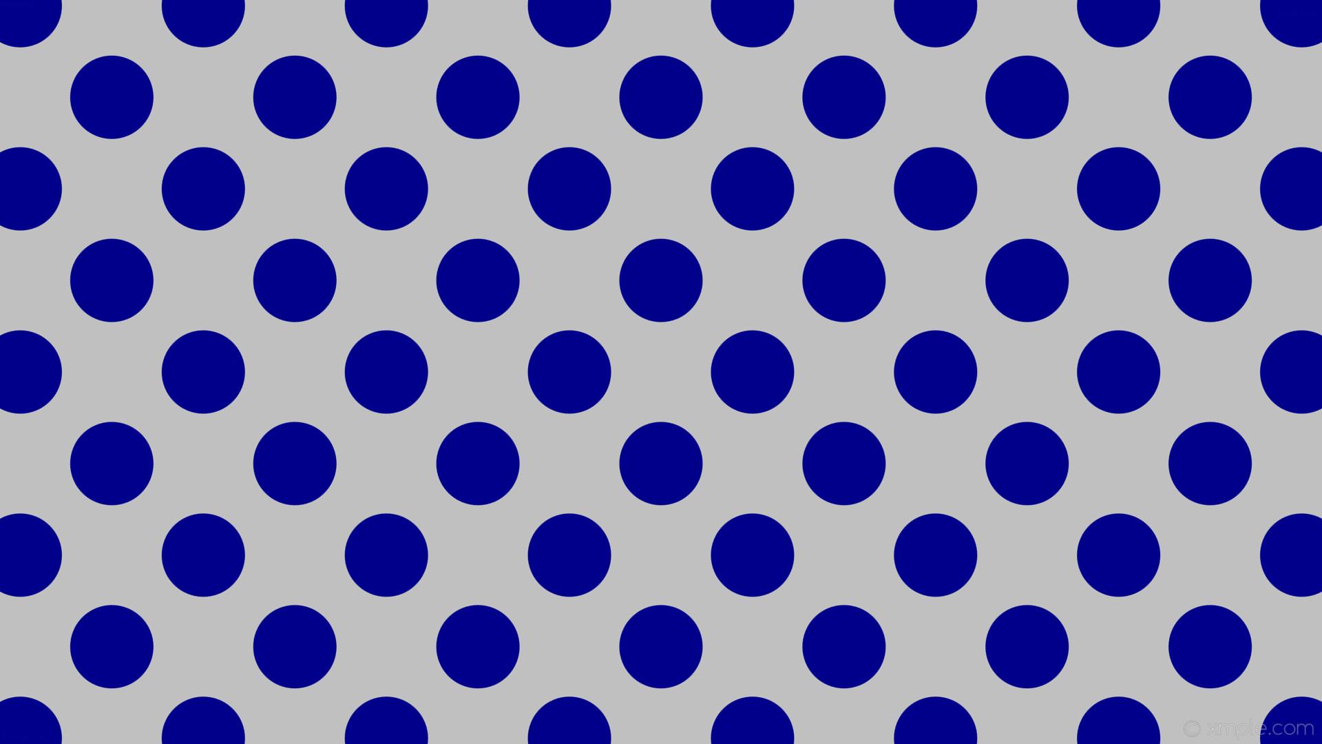 wallpaper polka dots spots blue grey silver dark blue #c0c0c0 #00008b 45°  121px