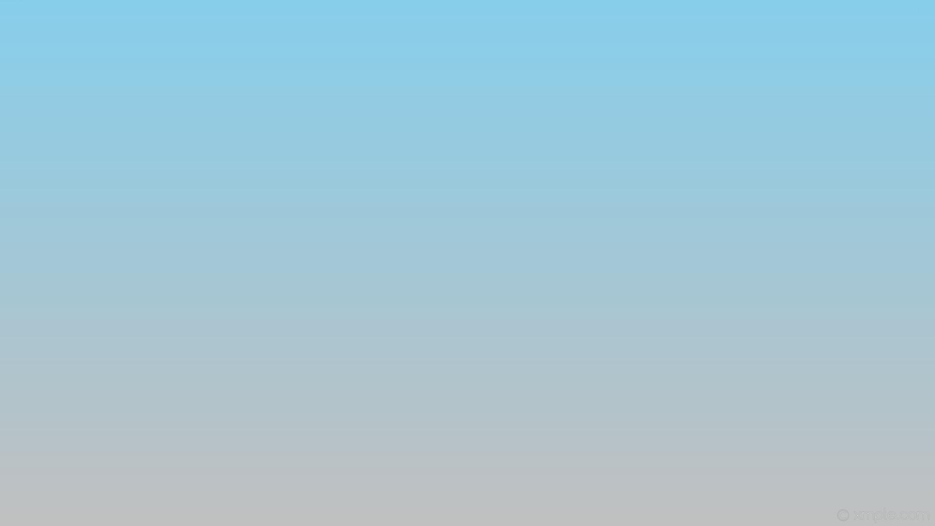 wallpaper blue grey gradient linear sky blue silver #87ceeb #c0c0c0 90°
