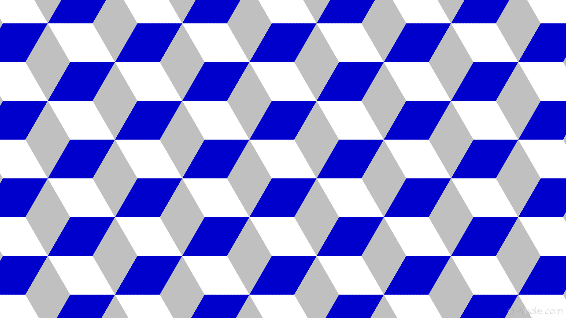 wallpaper blue grey 3d cubes white silver medium blue #ffffff #c0c0c0  #0000cd 330