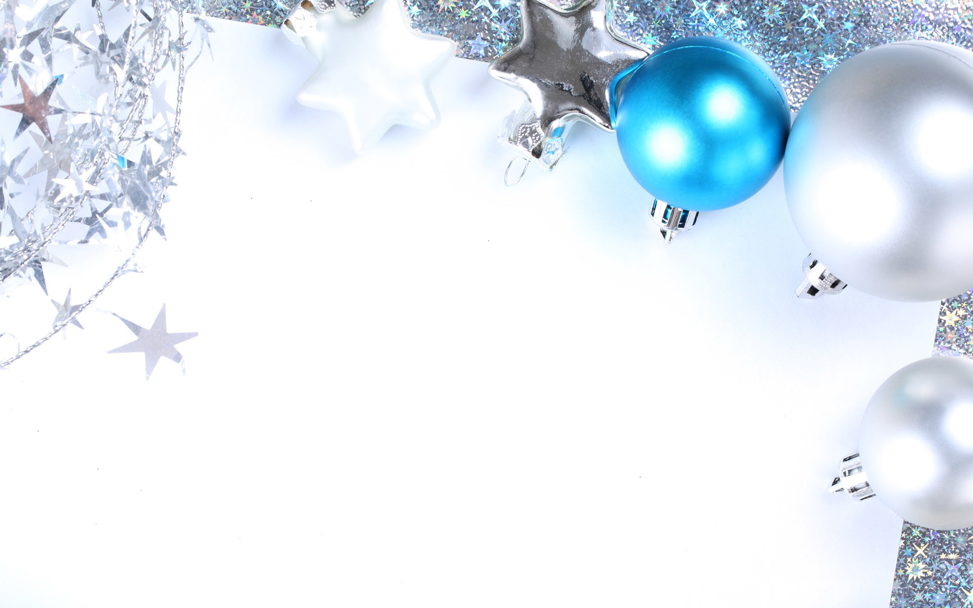 Silver Christmas Wallpaper (06)