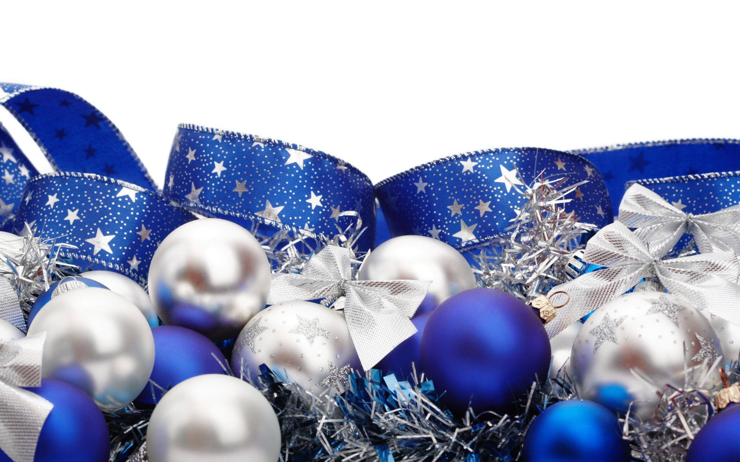 … wallpaper cave; silver and blue christmas decorations walldevil …