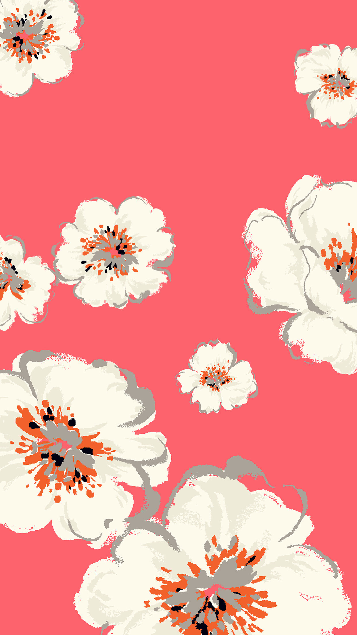 Pink flowers ☆ Follow @prettywallpaper for more pretty iPhone wallpapers!