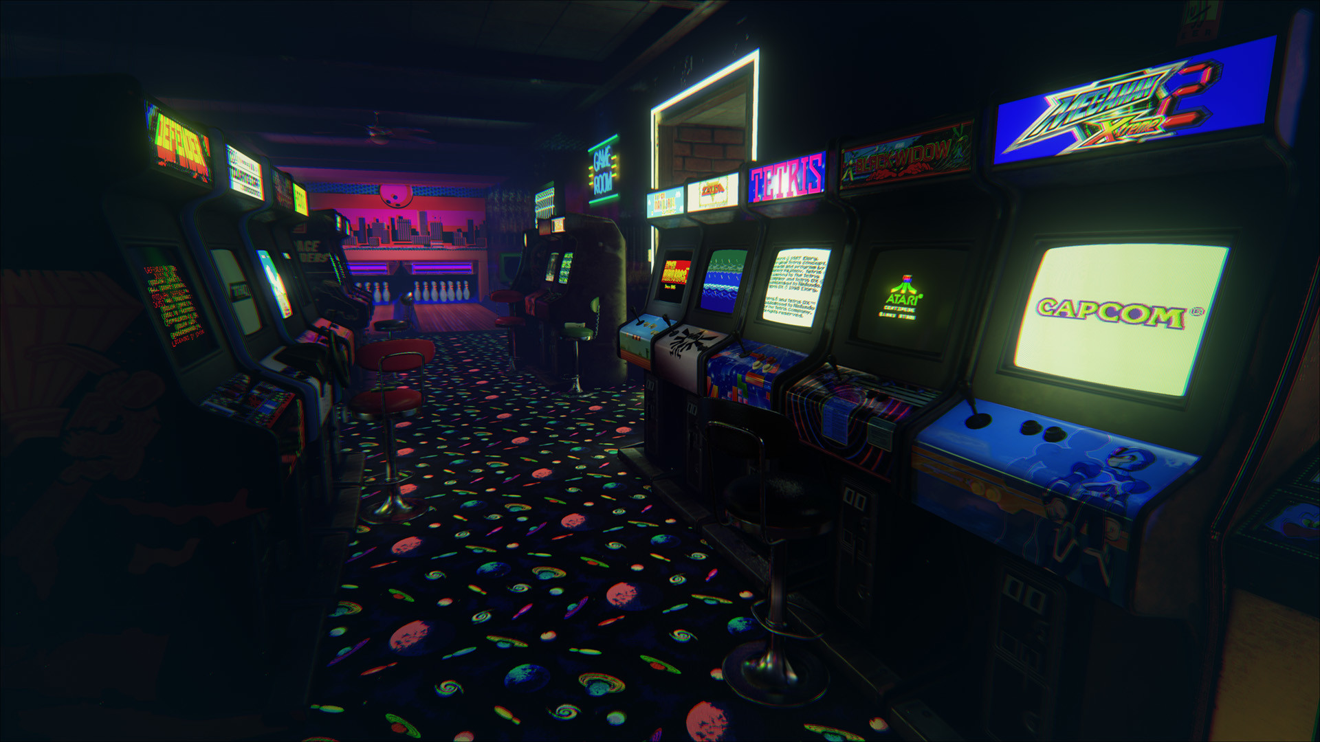 New Retro Arcade offers an entire 80s arcade to play in – The Rift .