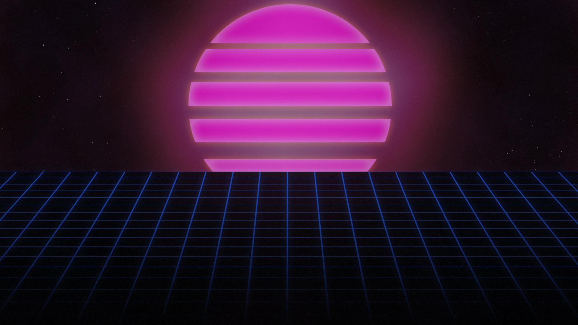 80s Sunset by AllieG3X on DeviantArt