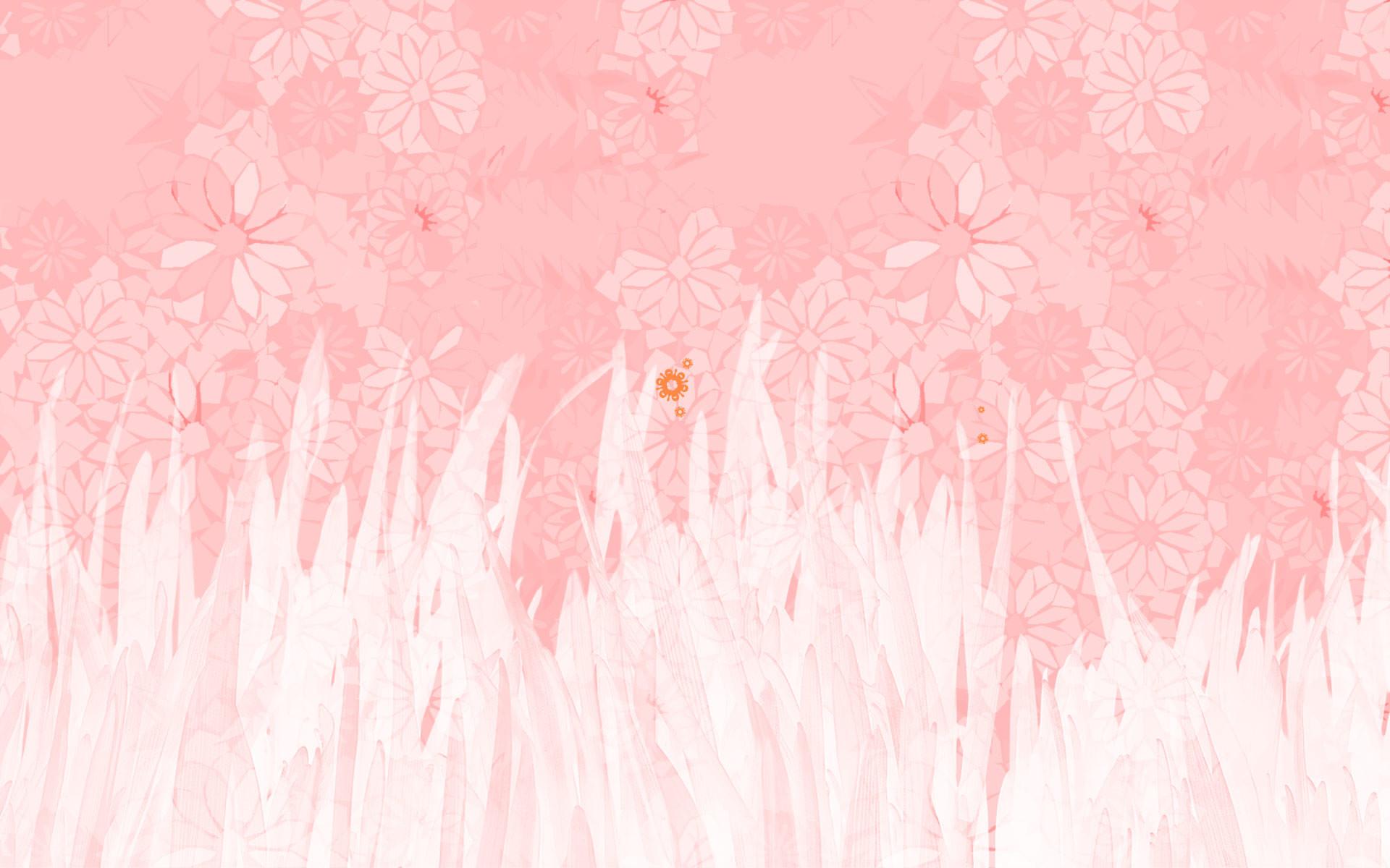 Light Pink Desktop Wallpaper