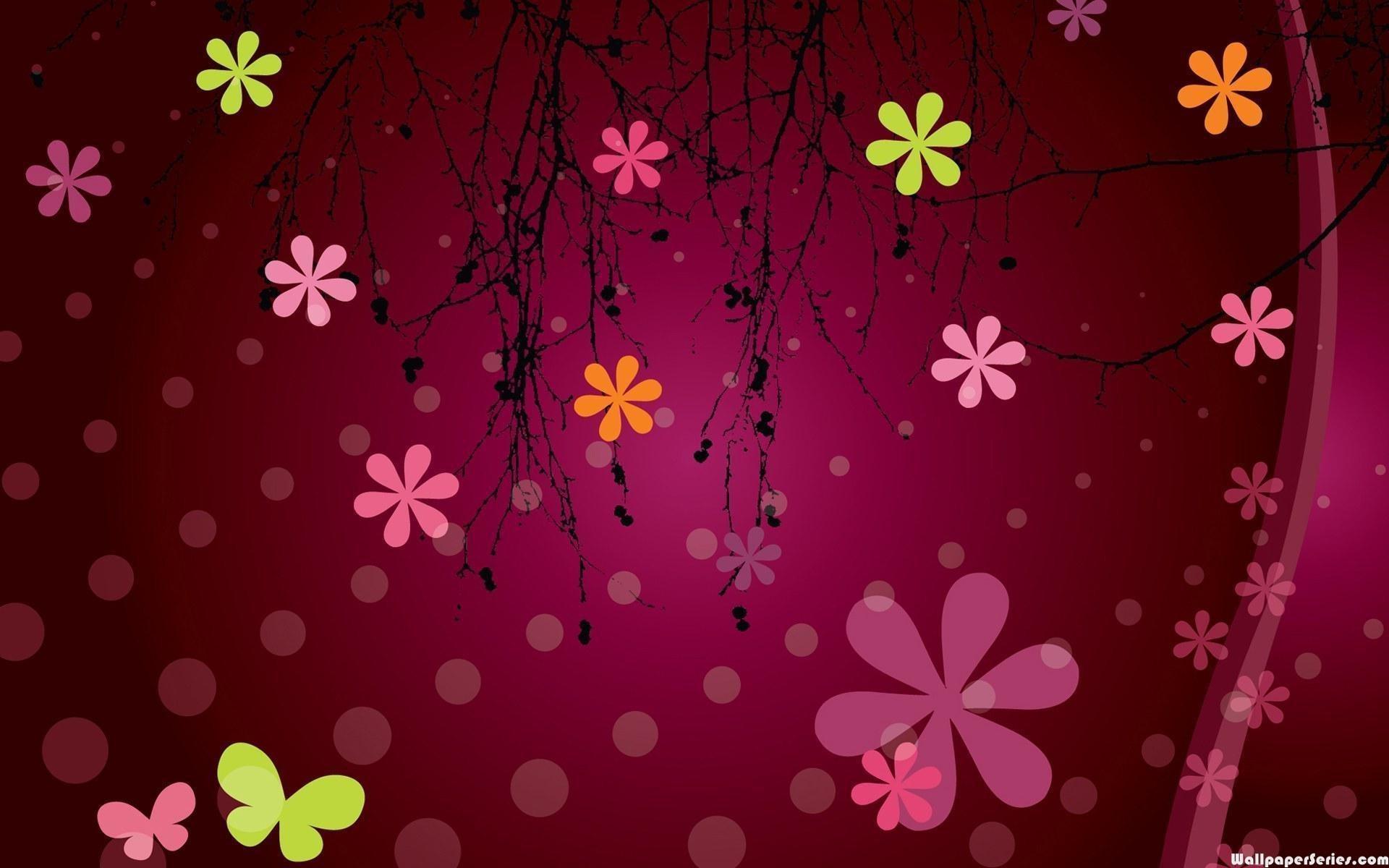 Cute Black And Pink Wallpaper 1 Free Wallpaper – Hdblackwallpaper.com