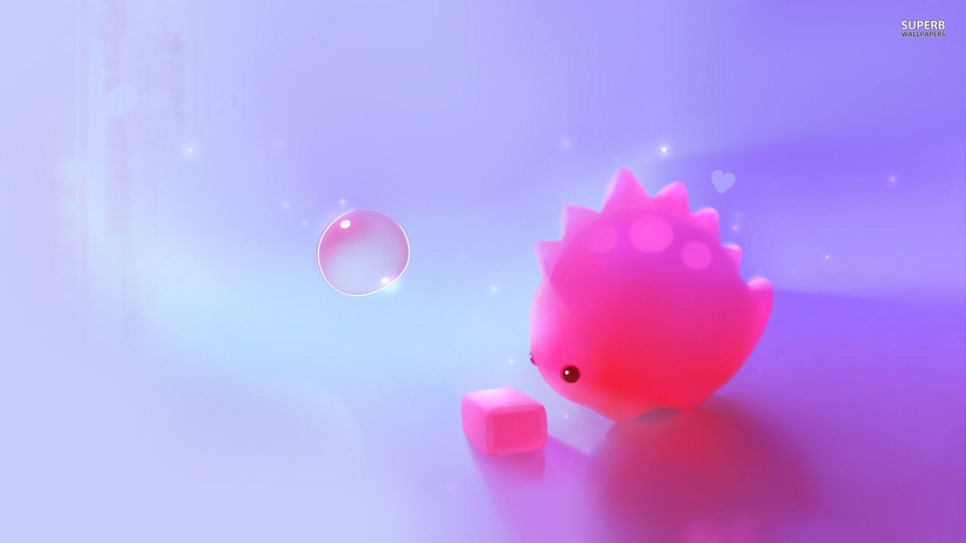 Cute Pink Desktop Wallpaper