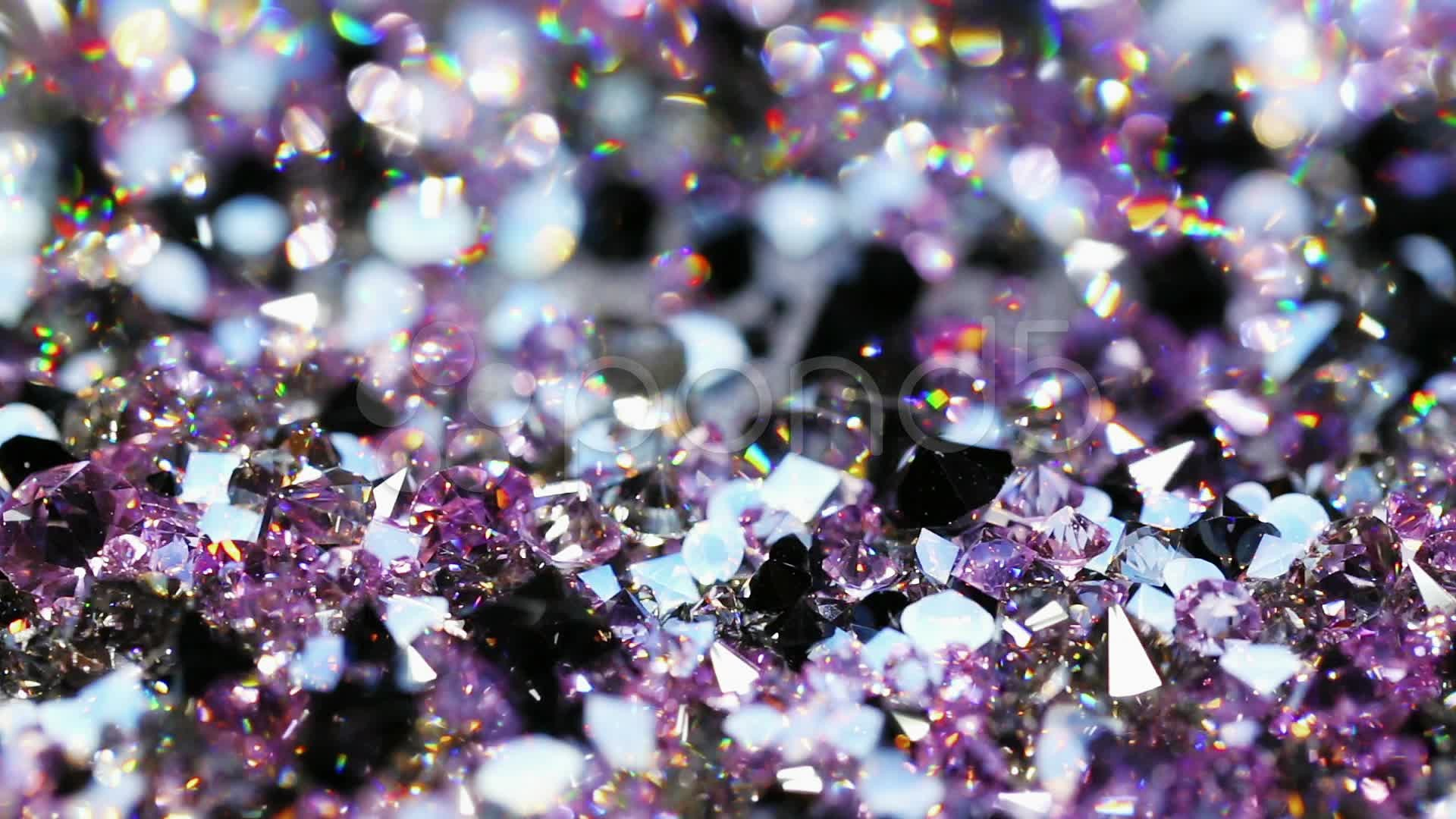 Purple Diamonds Background Many diamond jewel stones,