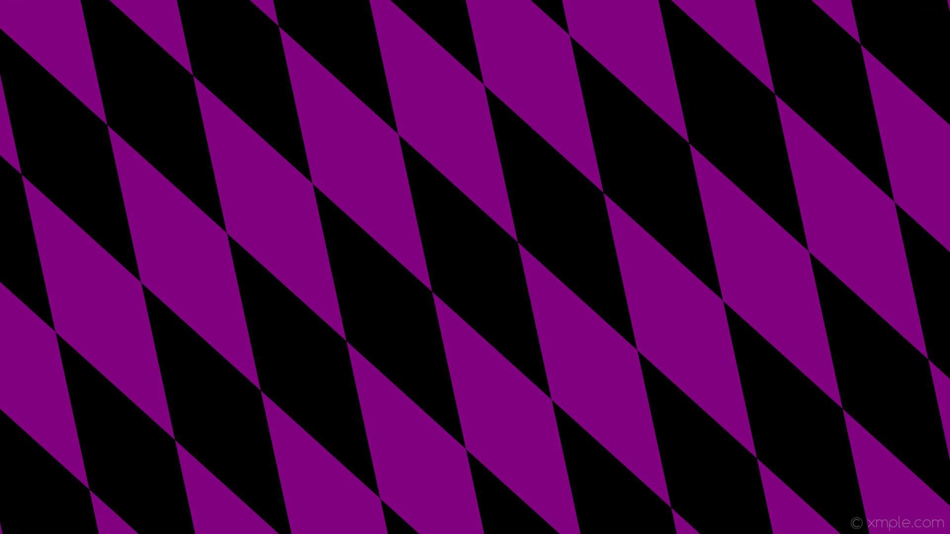 wallpaper rhombus black purple diamond lozenge #000000 #800080 120° 620px  200px