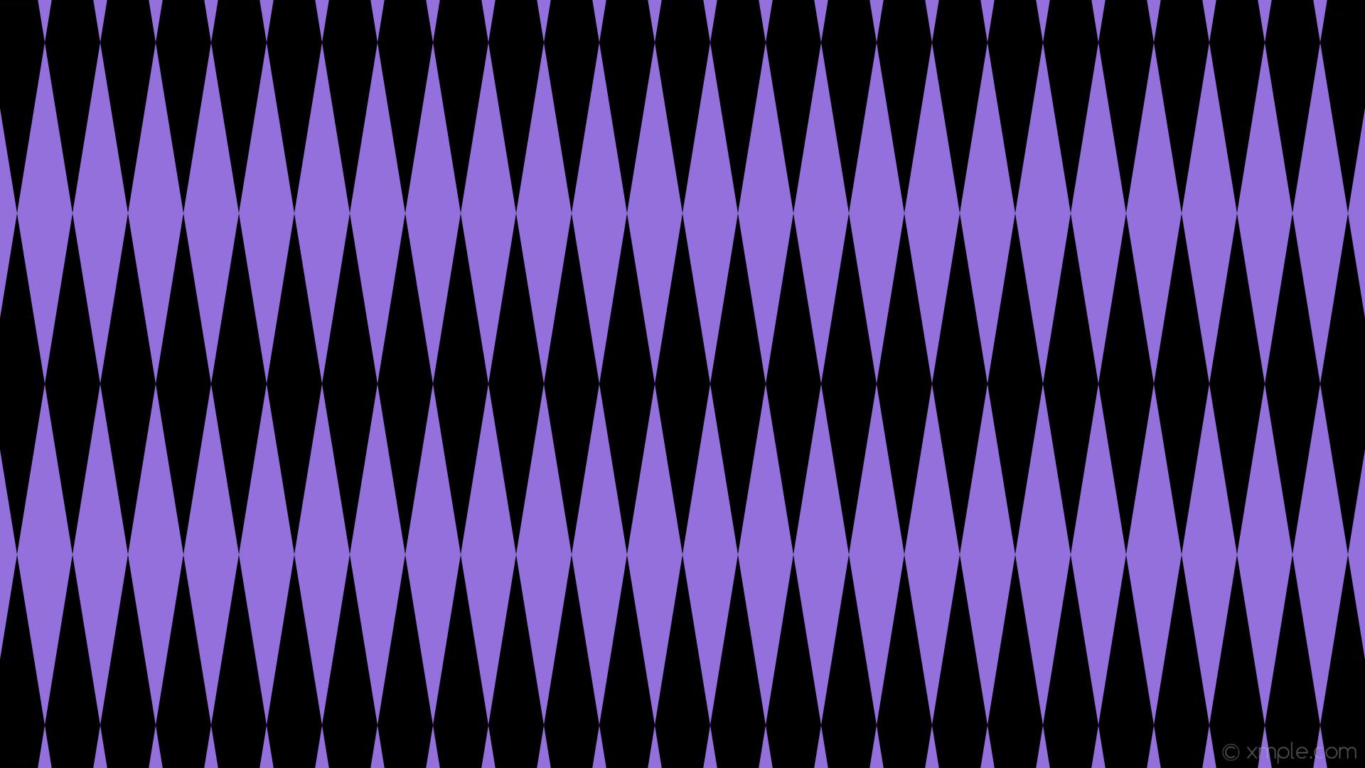 wallpaper rhombus lozenge purple diamond black medium purple #000000  #9370db 90° 480px 78px
