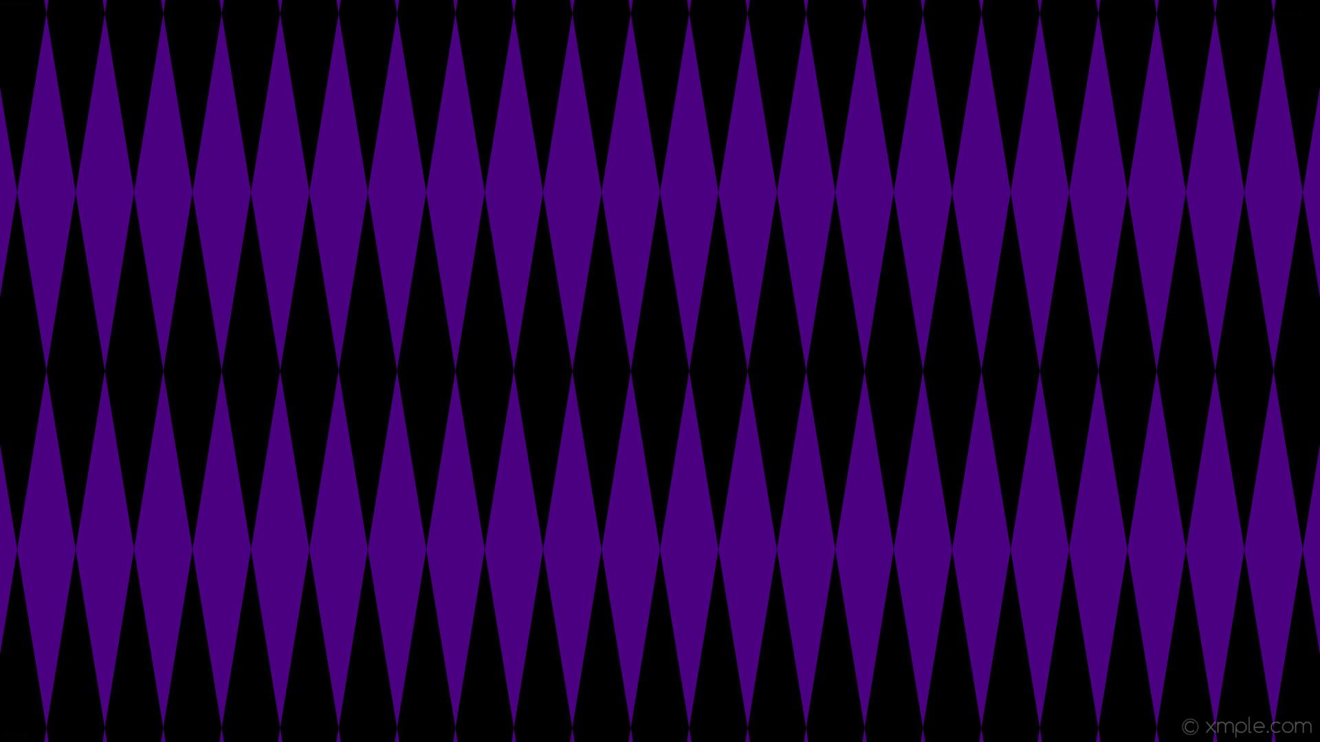 wallpaper lozenge black purple diamond rhombus indigo #000000 #4b0082 90°  520px 85px