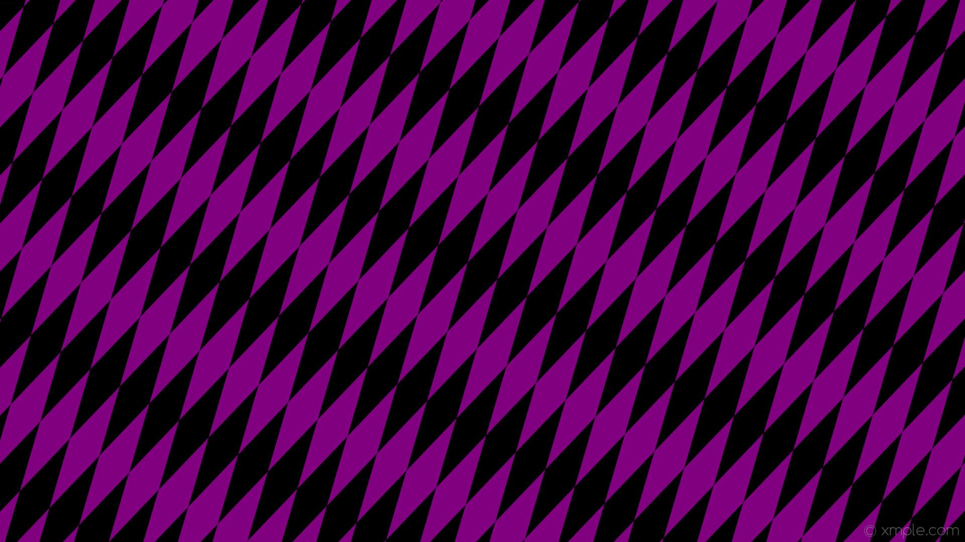 wallpaper rhombus black lozenge purple diamond #000000 #800080 60° 280px  68px