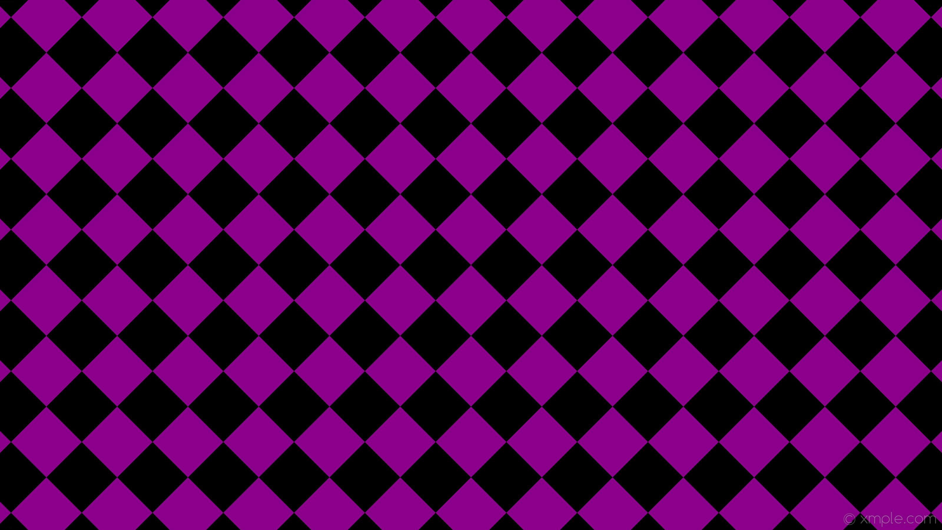 wallpaper checkered black purple squares dark magenta #000000 #8b008b  diagonal 45° 170px