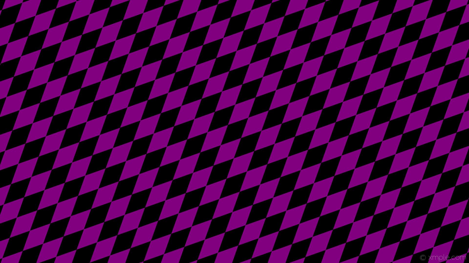 wallpaper rhombus black lozenge diamond purple #000000 #800080 45° 160px  76px