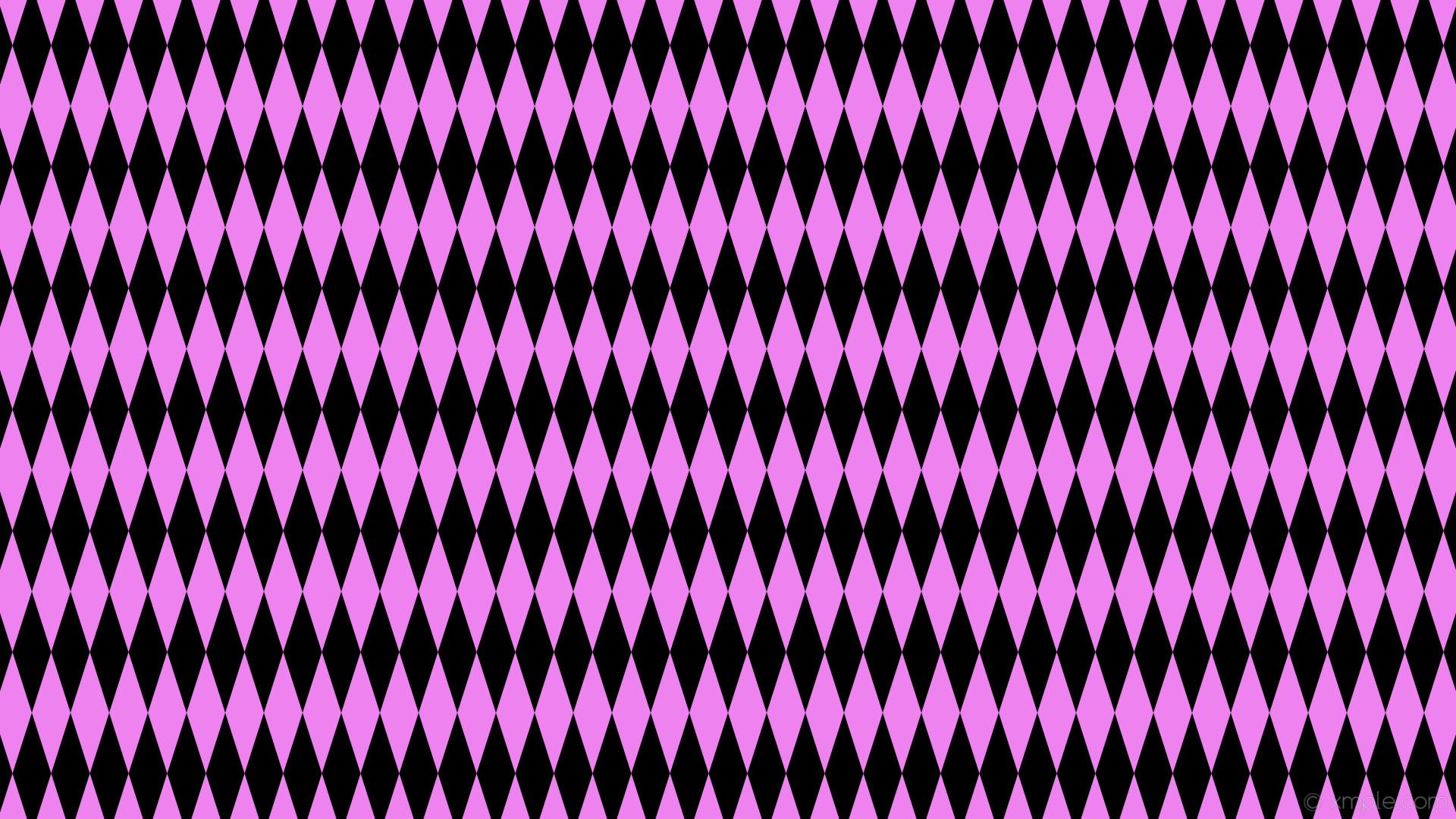 wallpaper rhombus black purple diamond lozenge violet #000000 #ee82ee 90°  160px 51px