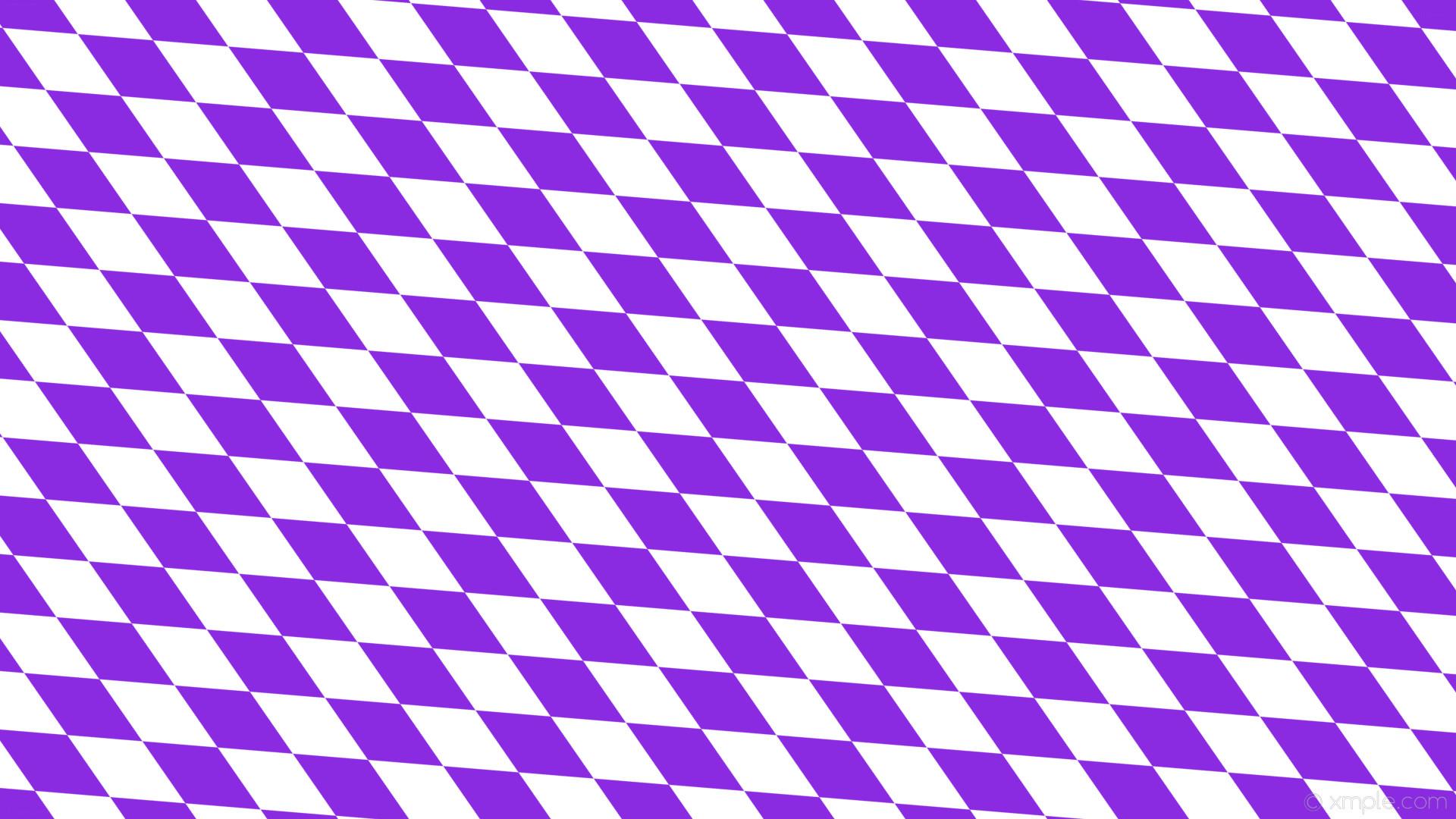 wallpaper rhombus lozenge white purple diamond blue violet #8a2be2 #ffffff  150° 180px 85px