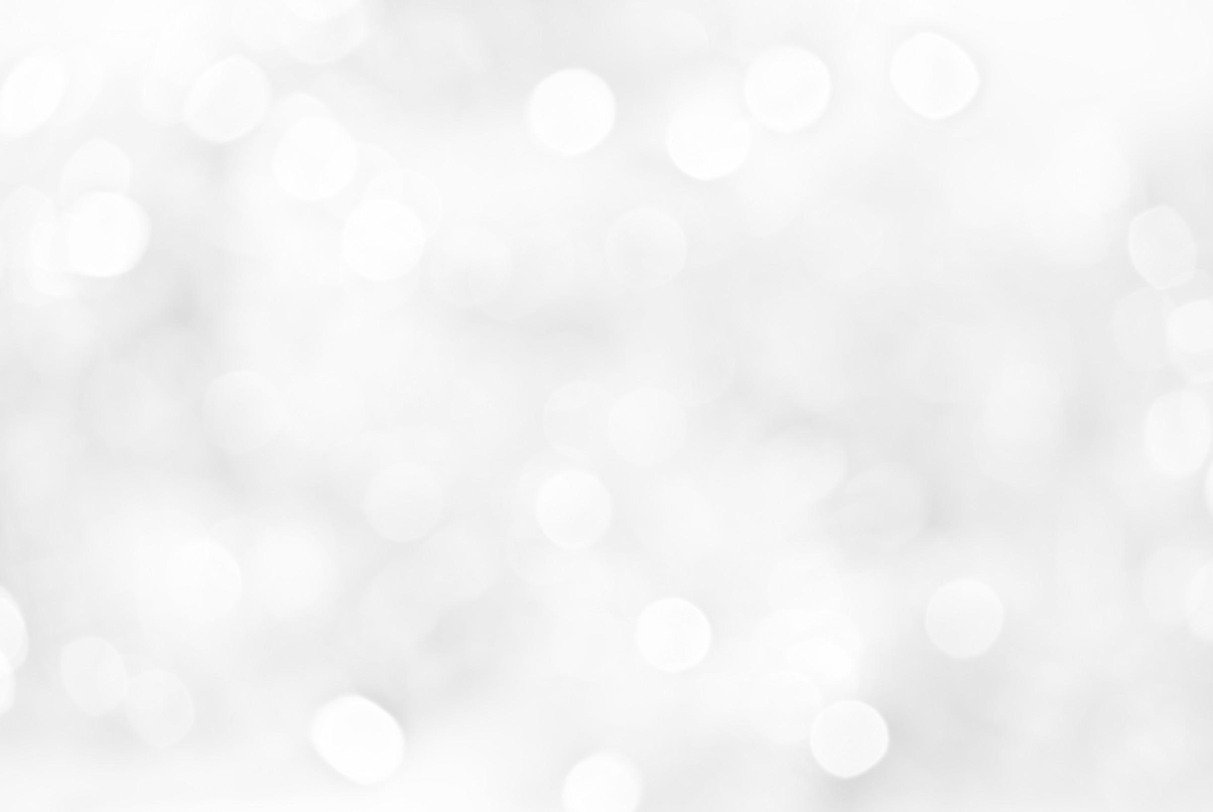 White-christmas-light-background